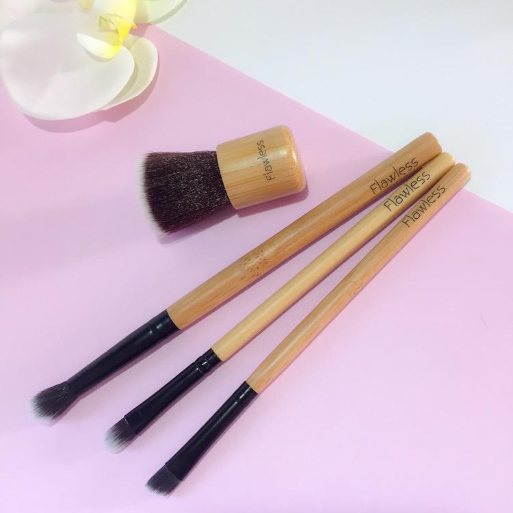 Eco-Friendly Makeup Brushes Set