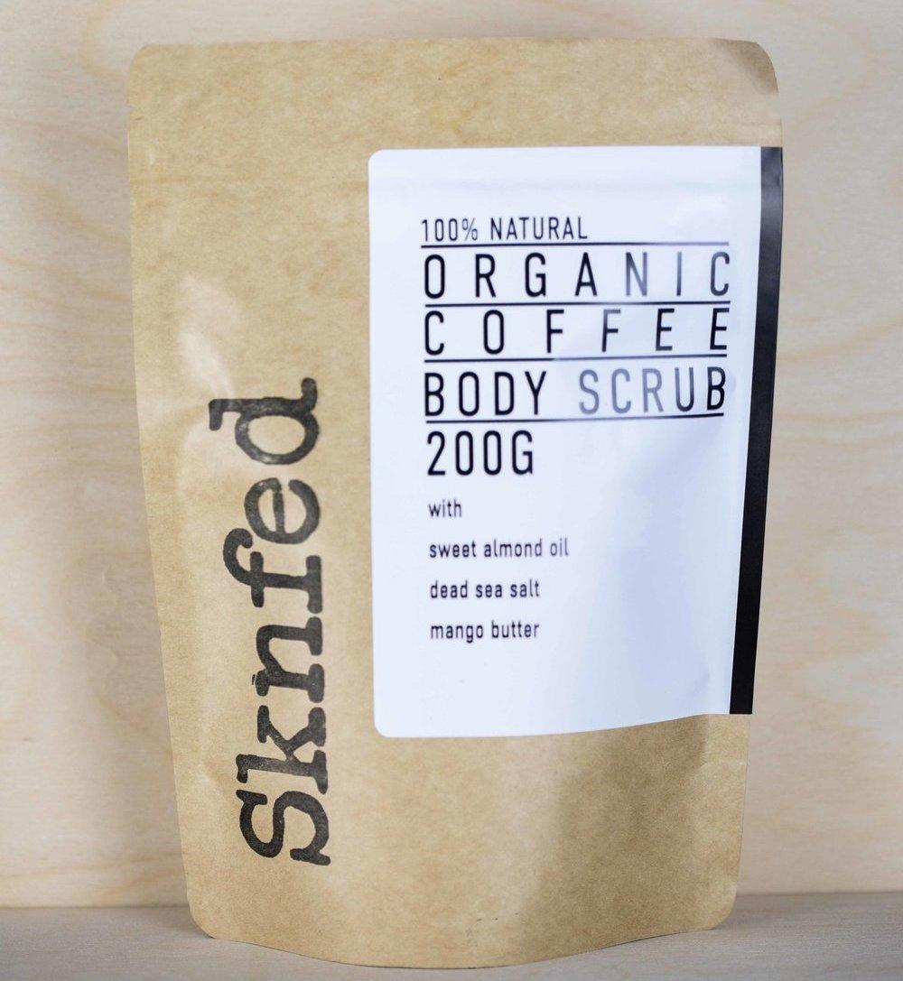 Organic Coffee Body Scrub Eco Friendly Amp Natural Body