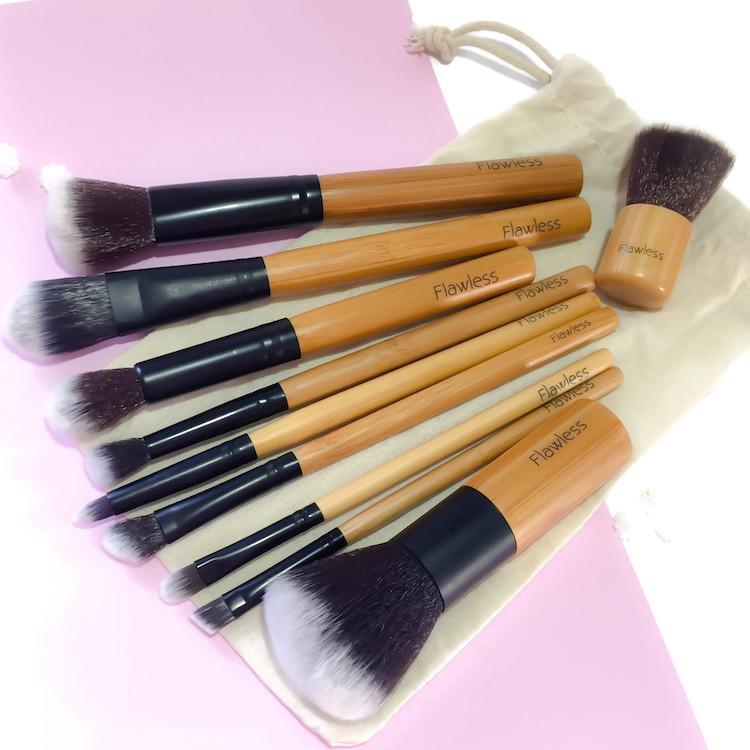 Vegan Makeup Brush Set | Zero Waste