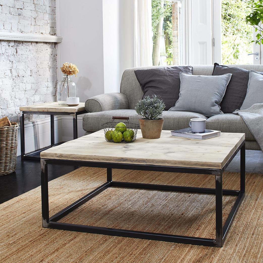 - Reclaimed Coffee Table - Minimal Handmade Eco-Friendly Coffee Table UK