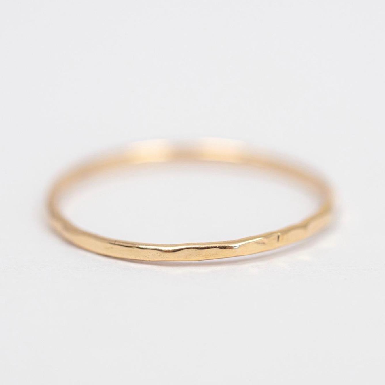Gold Stacking Ring