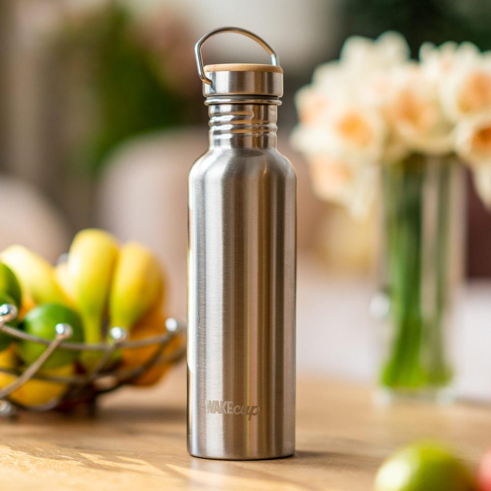 Eco 750ml Stainless Steel Water Bottle Plastic Free