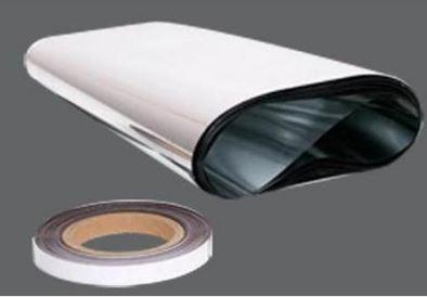 roll of reflective foil and magnetic tape