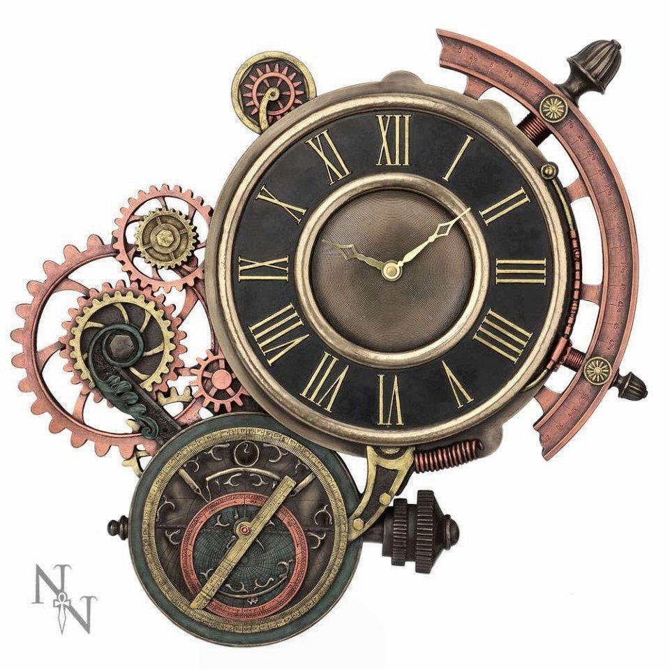 Cogwork Steampunk Clock Nemesis Now