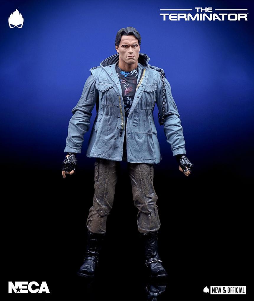 """Ultimate Tech Noir T-800 NECA Terminator 7/"""" Scale Action Figure"""