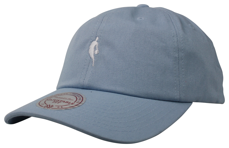 1ec04a78 Mitchell & Ness | NBA Logoman Blue Little Dribbler Dad Hat Snapback