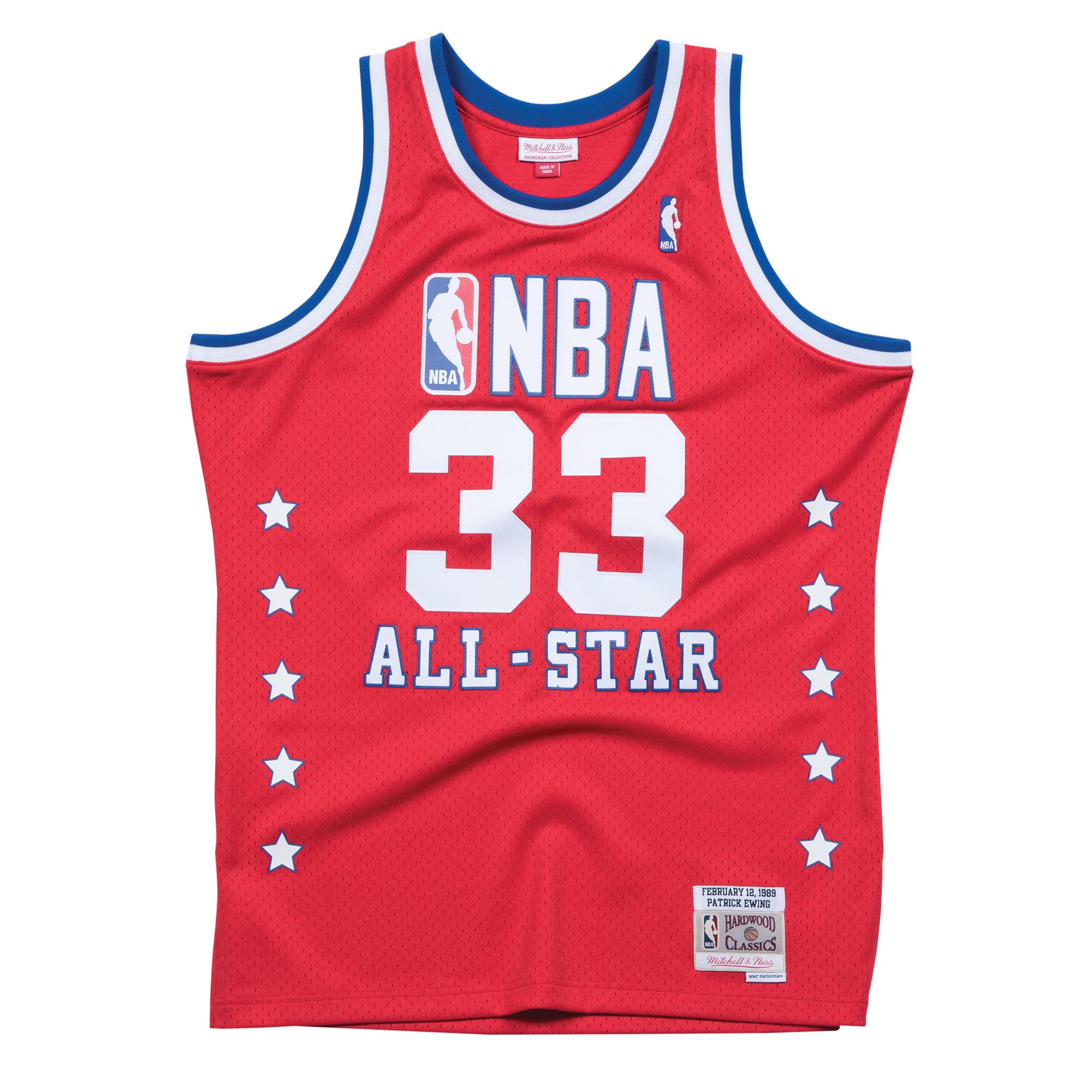 b0033a478 Patrick Ewing 1989 East Swingman Jersey NBA All-Star