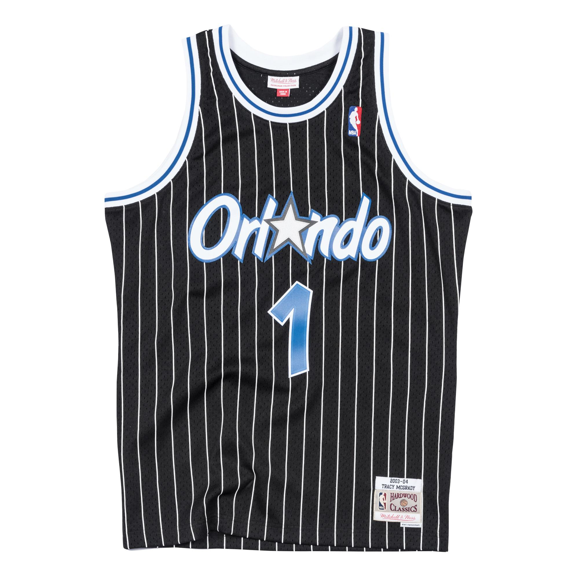 5b69a1497 Tracy McGrady 2003-04 Swingman Jersey Orlando Magic