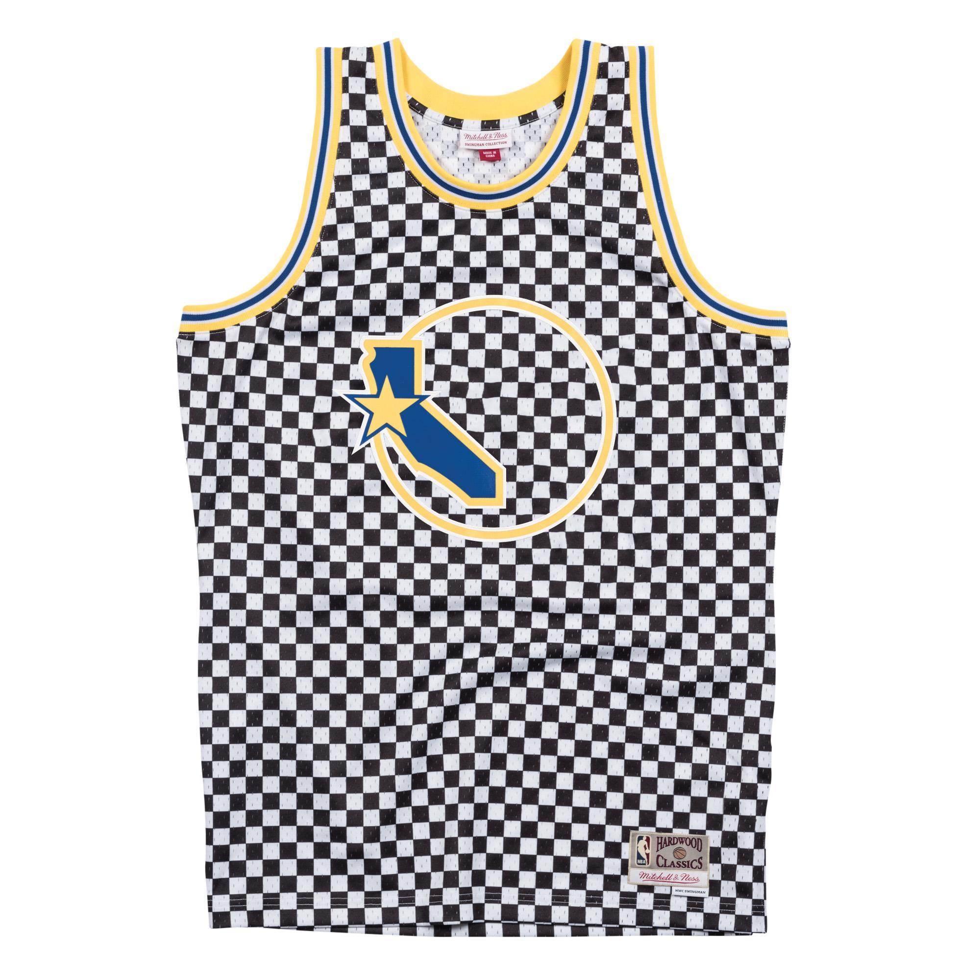 hot sale online 7797d 0e5de Mitchell & Ness | Golden State Warriors Black & White ...
