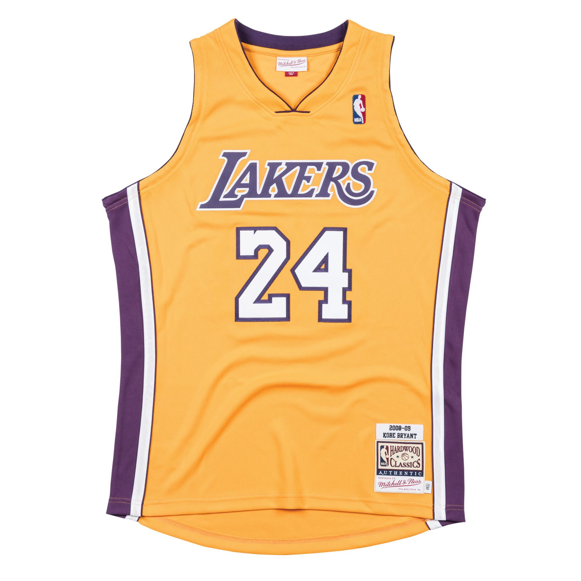 promo code 079bb 6e1a6 Mitchell & Ness | Kobe Bryant 2008-09 Home Authentic Jersey