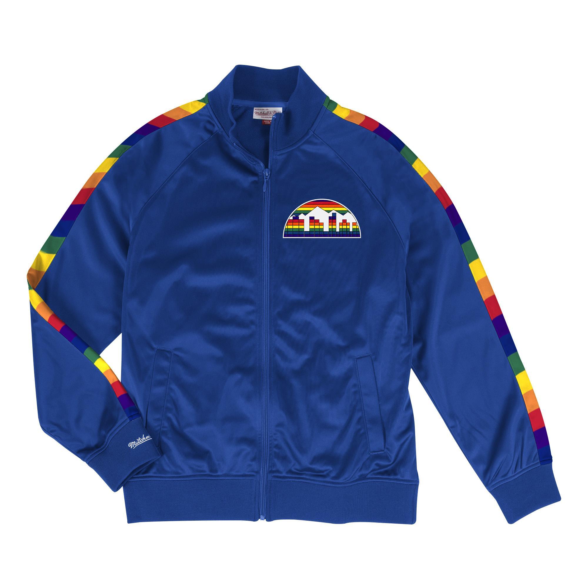 09be63752ec NBA Track Jacket Denver Nuggets