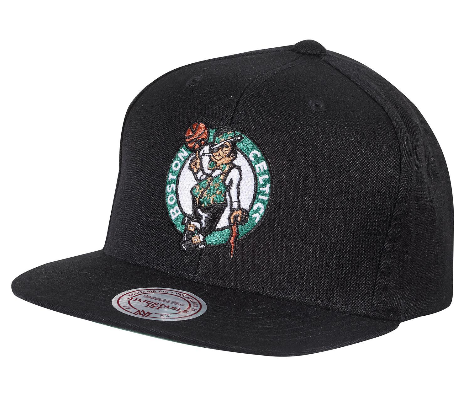 74b7892b6 Mitchell & Ness   Wool Solid Snapback Boston Celtics