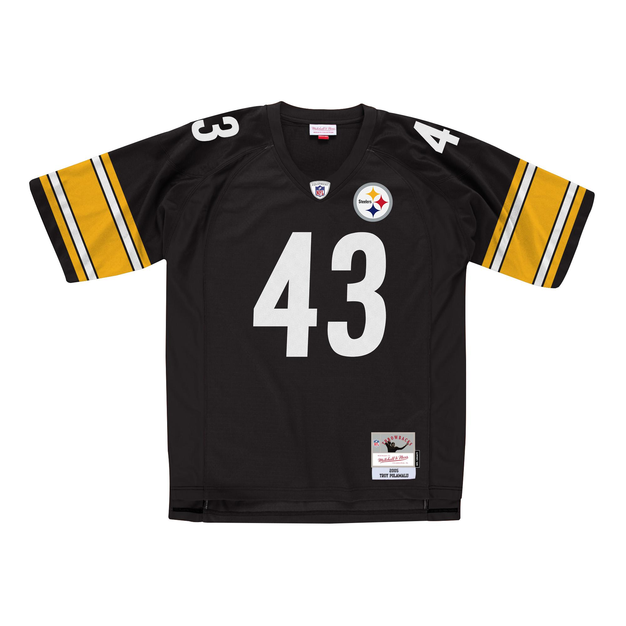 072d58cd Mitchell & Ness | Pittsburgh Steelers Legacy Jersey Troy Polamalu
