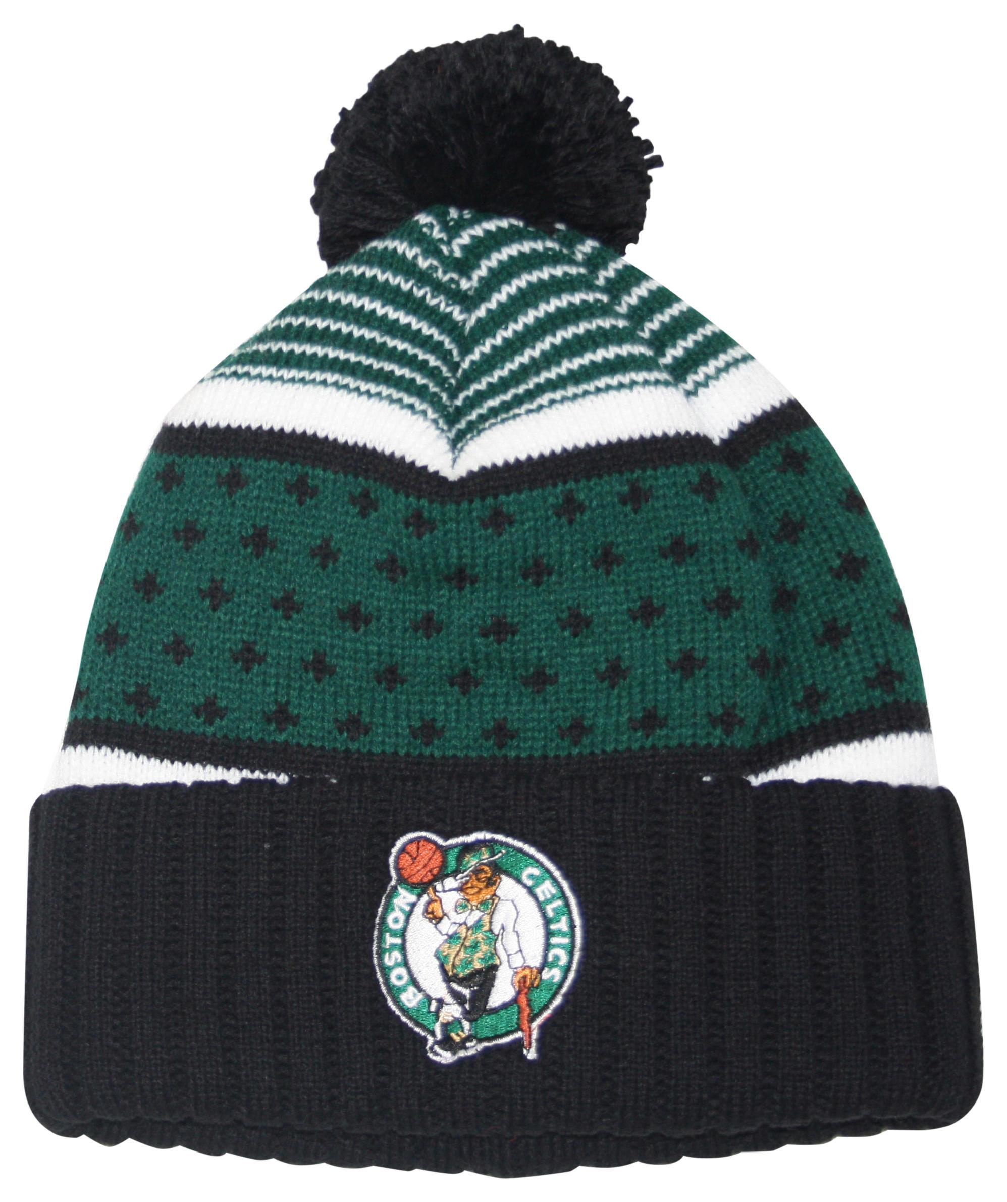 The Highlands Cuffed Pom Beanie Boston Celtics 1ebba2877506