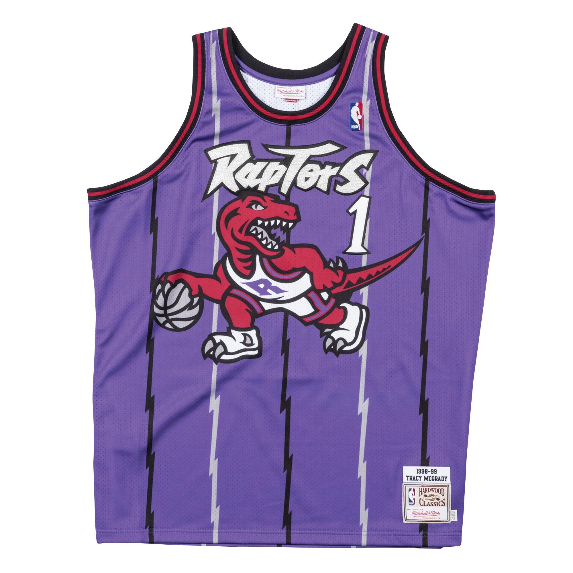 477e7b253 Tracy McGrady 1998-99 Road Authentic Jersey Toronto Raptors