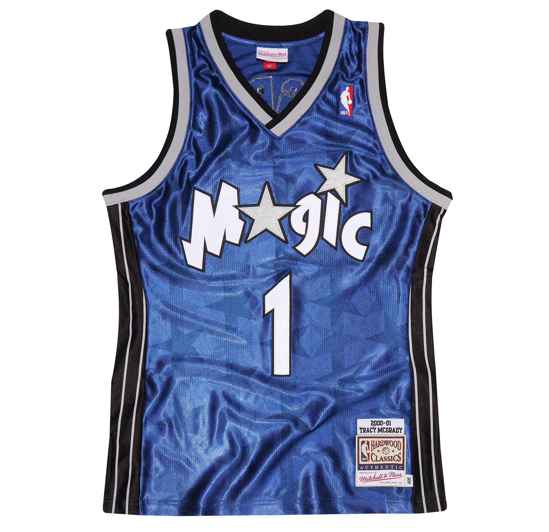 eb54acc6e Tracy McGrady 2000-01 Road Authentic Jersey Orlando Magic