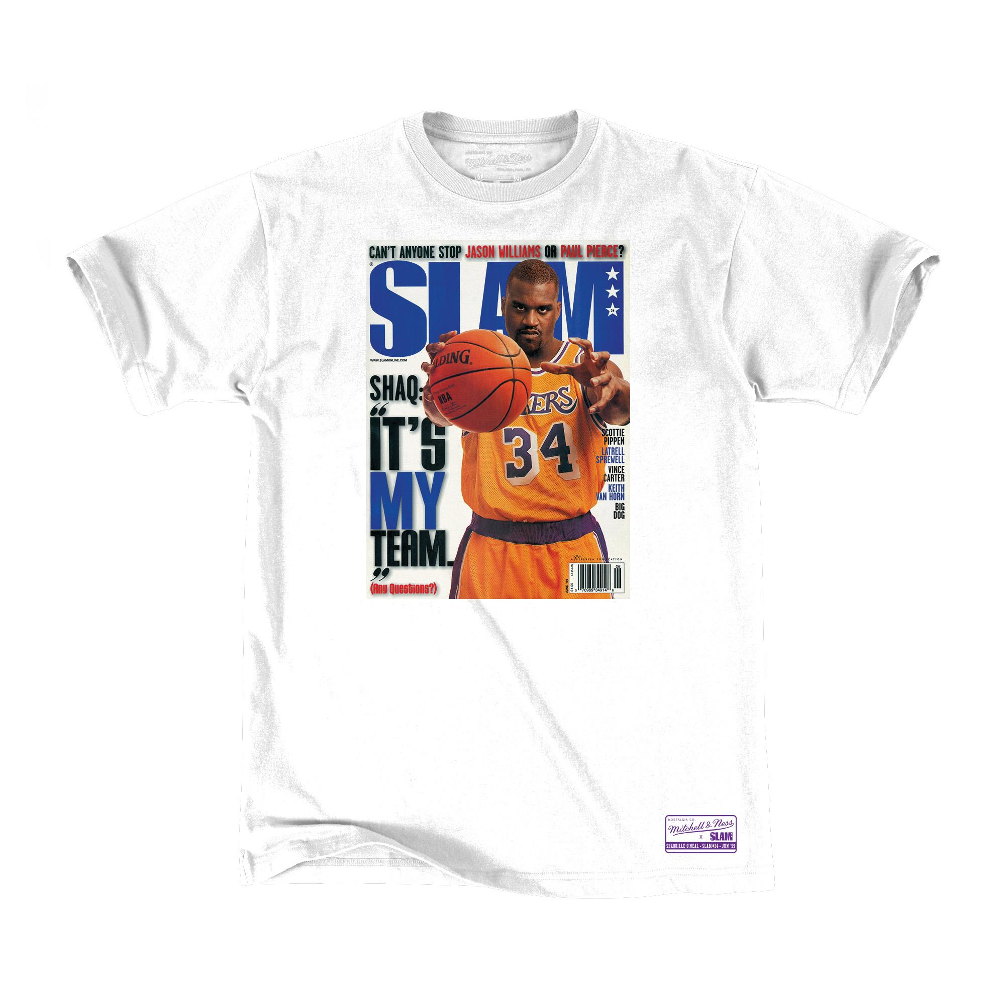 newest cc99c 06d33 Mitchell & Ness | Slam Cover SS Tee Shaquille O'Neal