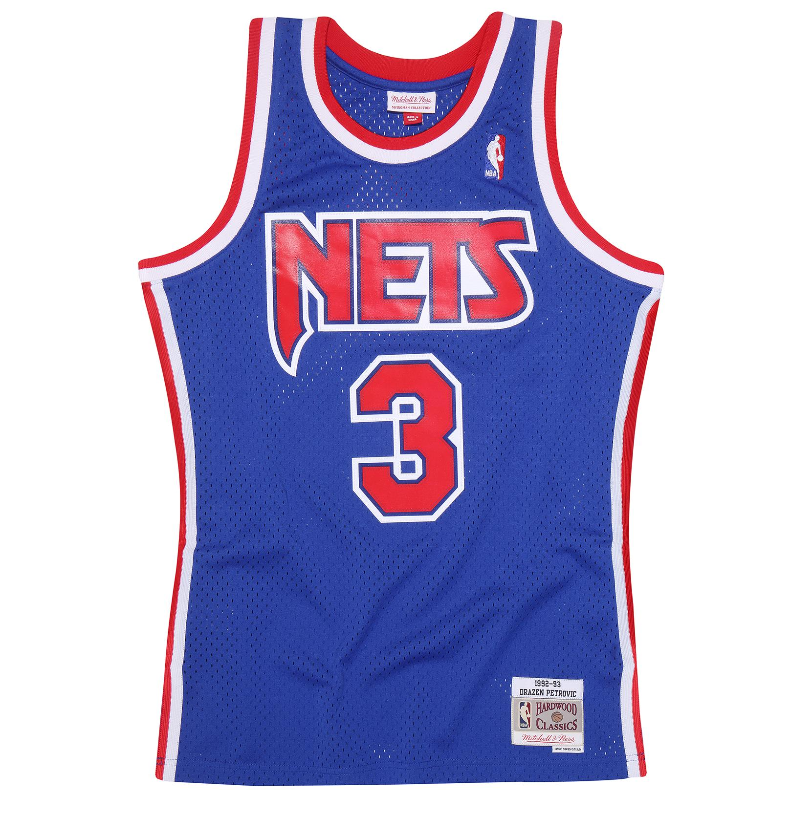huge selection of 27469 140c4 Mitchell & Ness | Drazen Petrovic 1992-93 Road Swingman Jersey