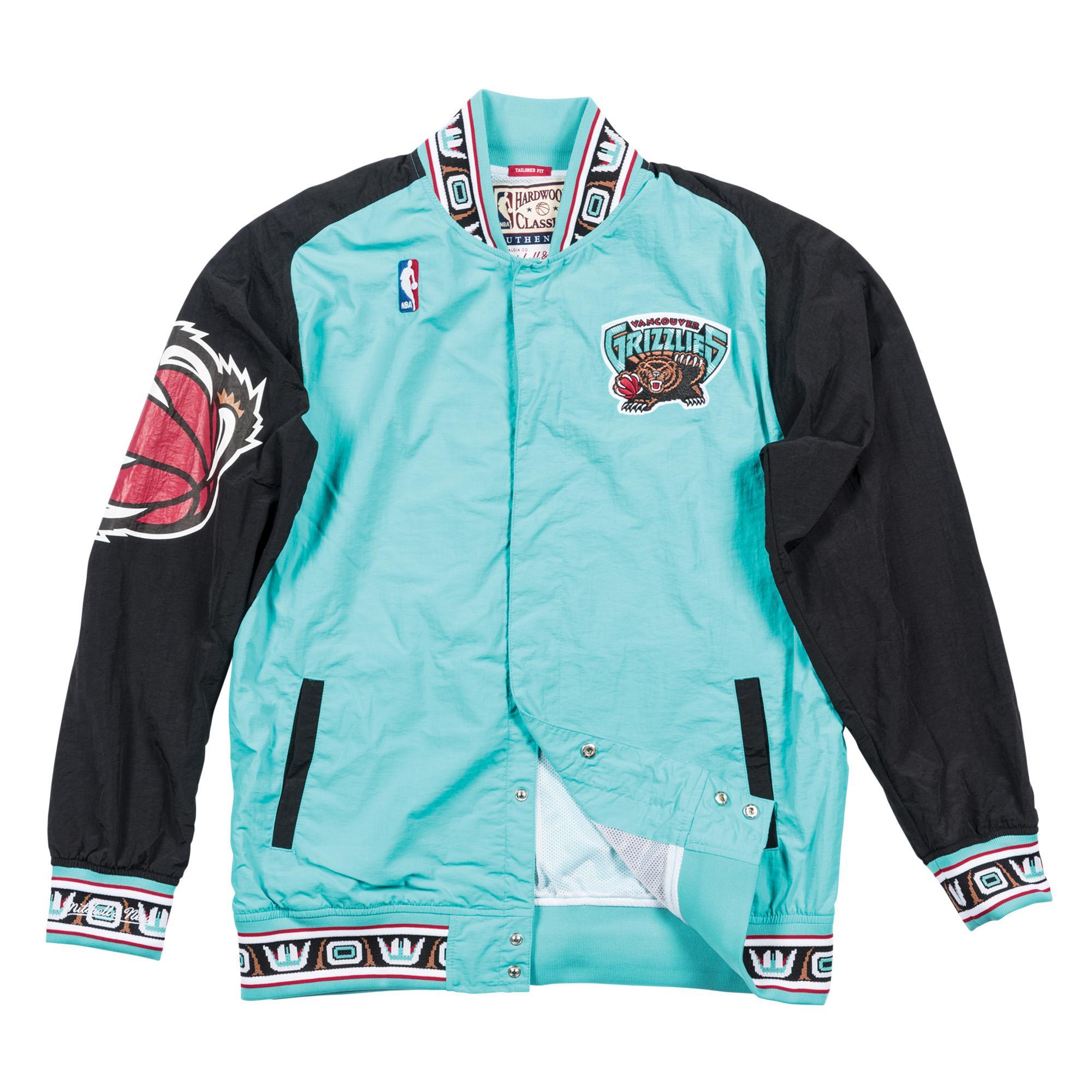 fc0f59c18cf 1995-96 Authentic Warm Up Jacket Vancouver Grizzlies