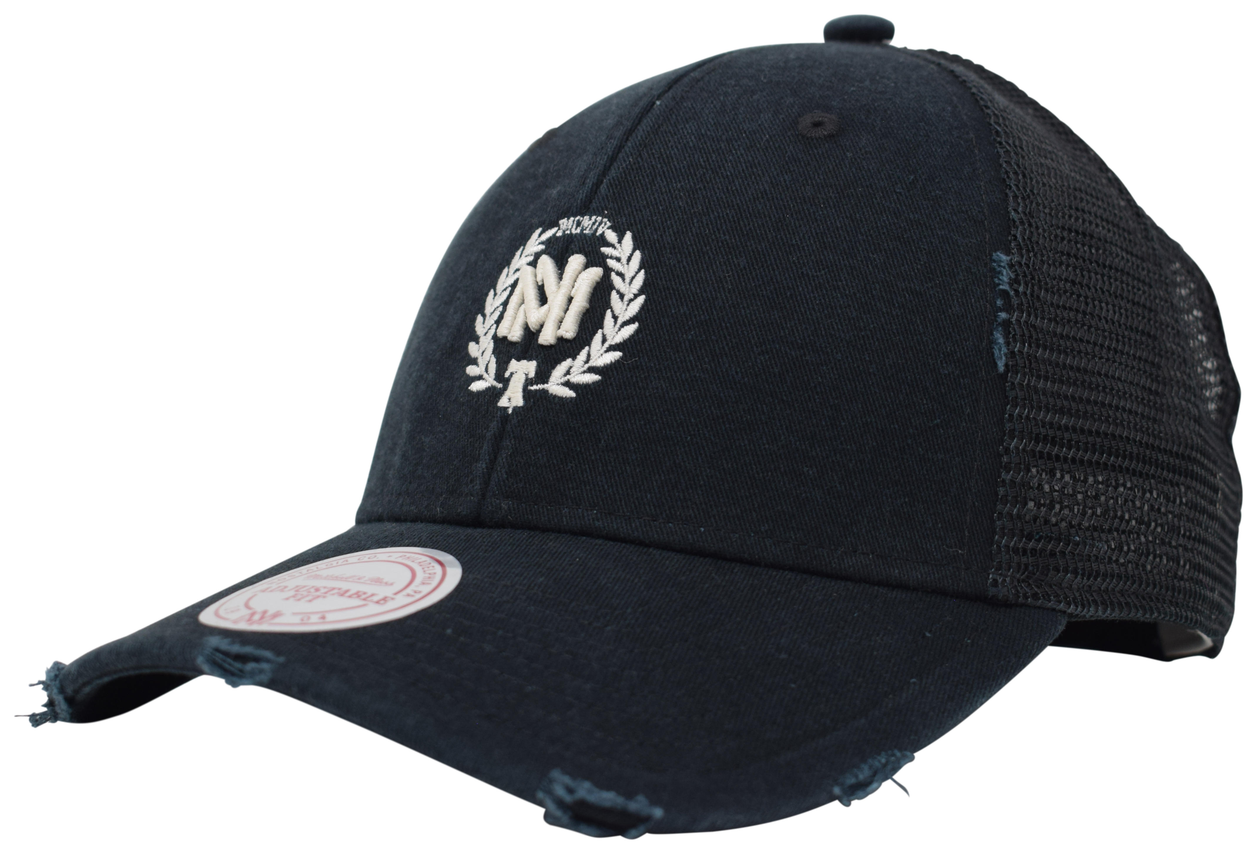 e9429337 Mitchell & Ness | Mitchell and Ness Black The Distressed Off-White ...