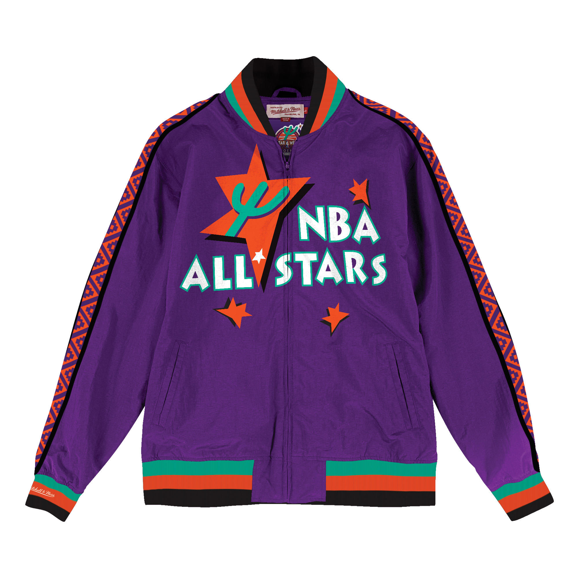 48bc5d5dc Team History Warm Up Jacket 1995 NBA All-Star