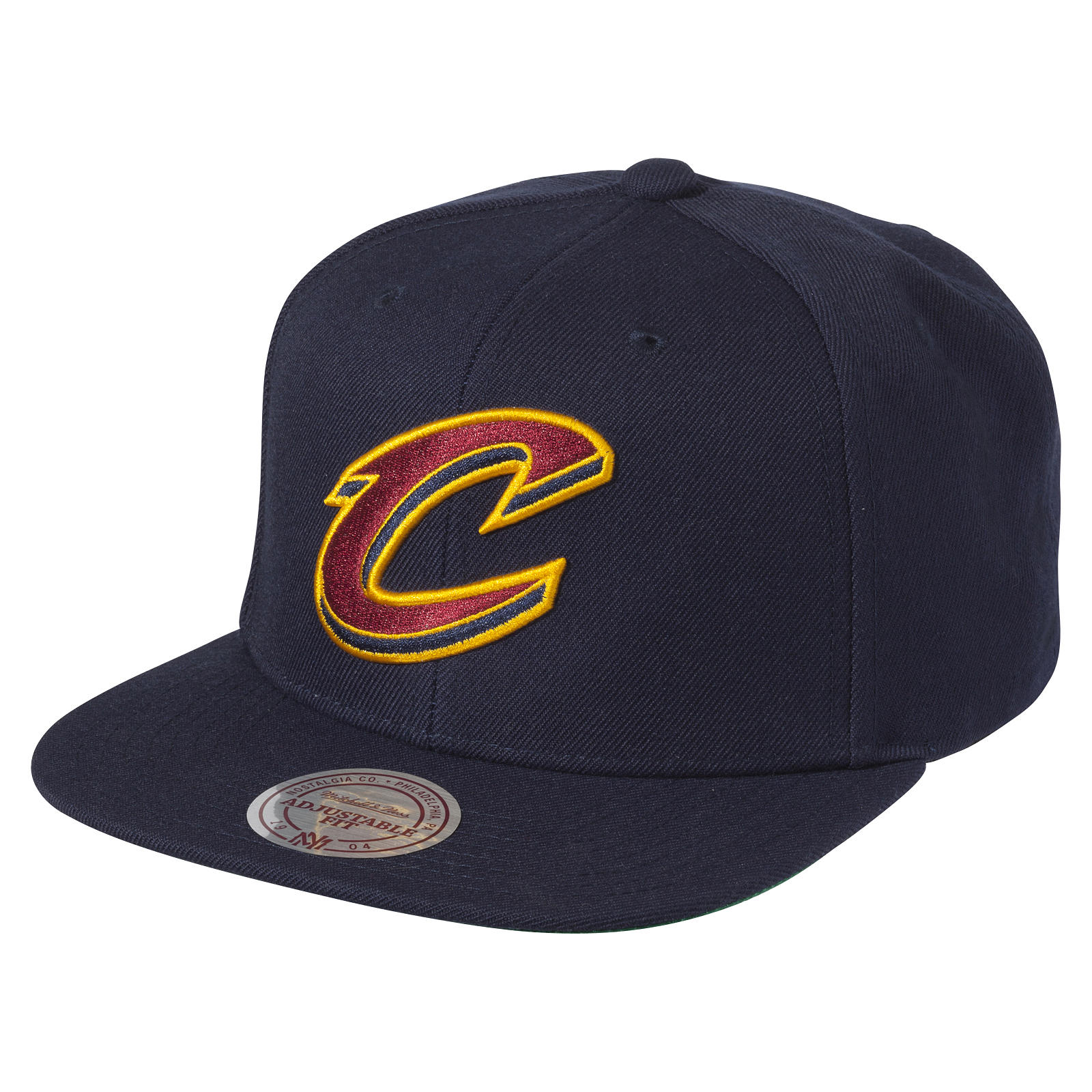 Wool Solid Snapback Cleveland Cavaliers 39ec8940408a