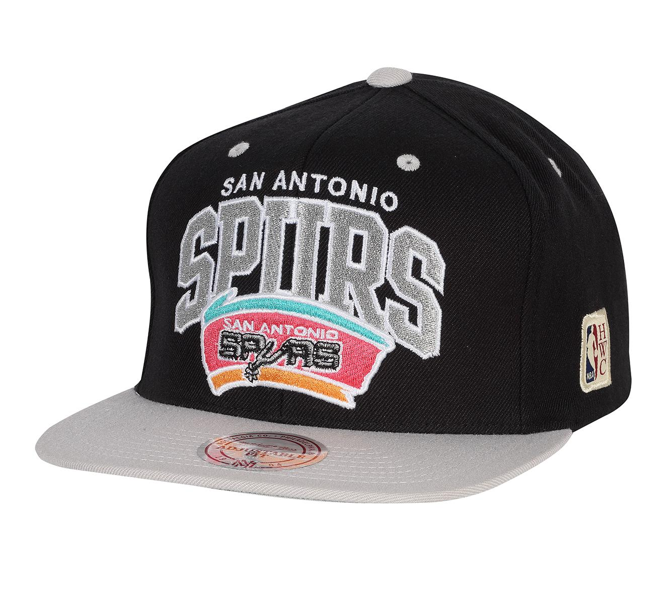 los angeles afa55 db642 Team Arch Snapback San Antonio Spurs