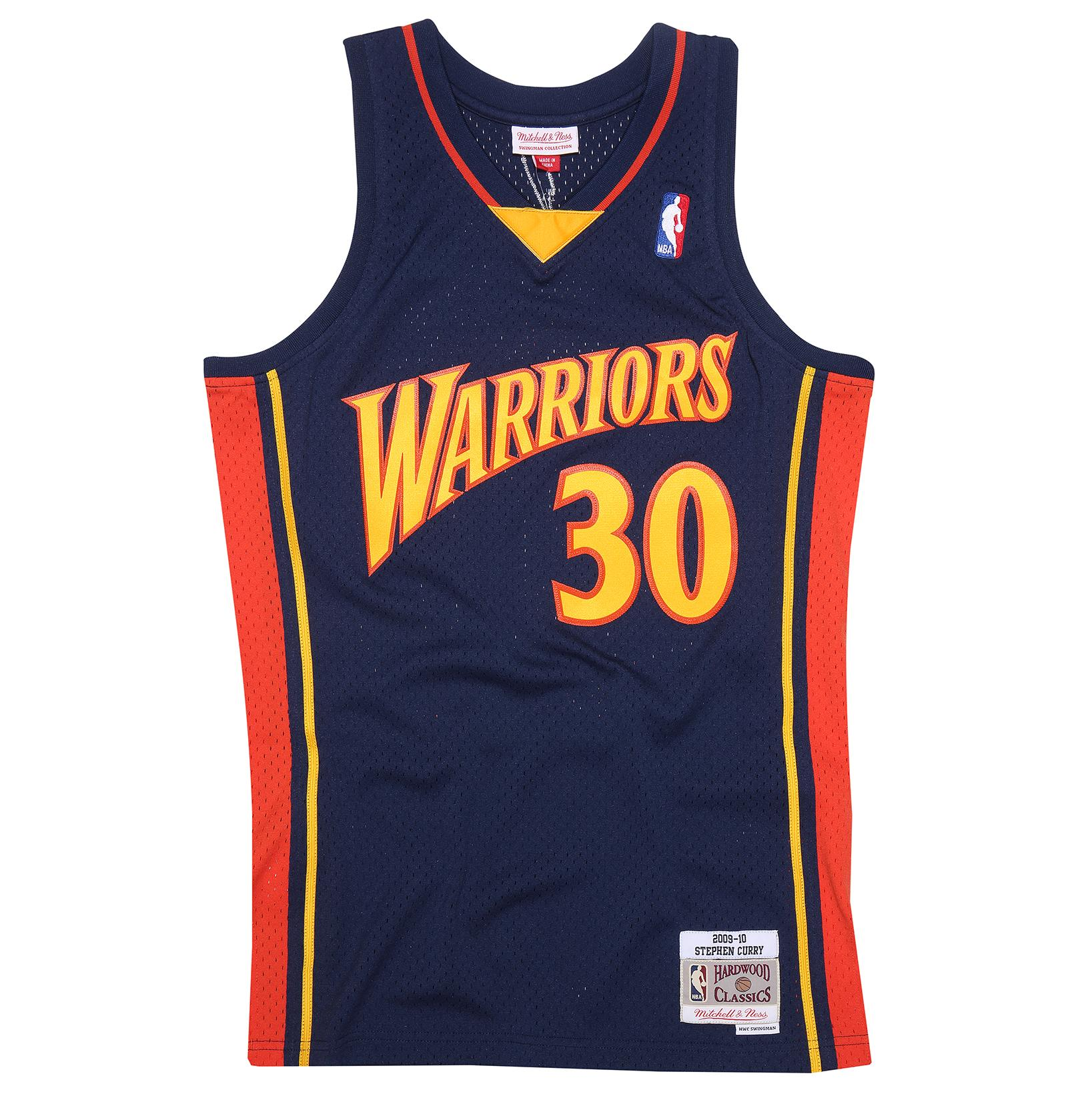 huge discount b8ee5 a651b Mitchell & Ness | Stephen Curry 2009-10 Golden State ...