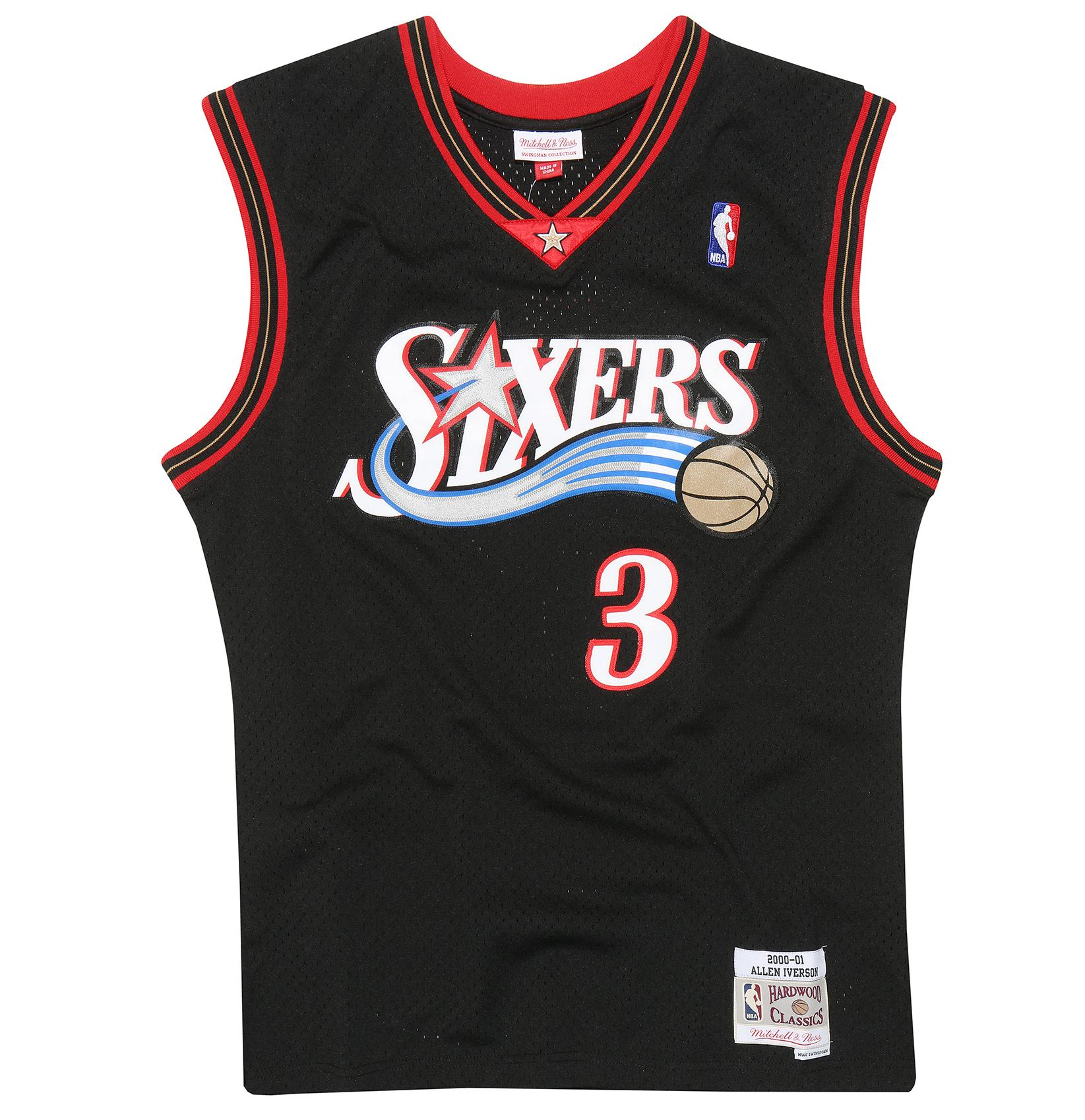Allen Iverson 2000-01 Swingman Jersey Philadelphia 76ers cc9c181d8cdb