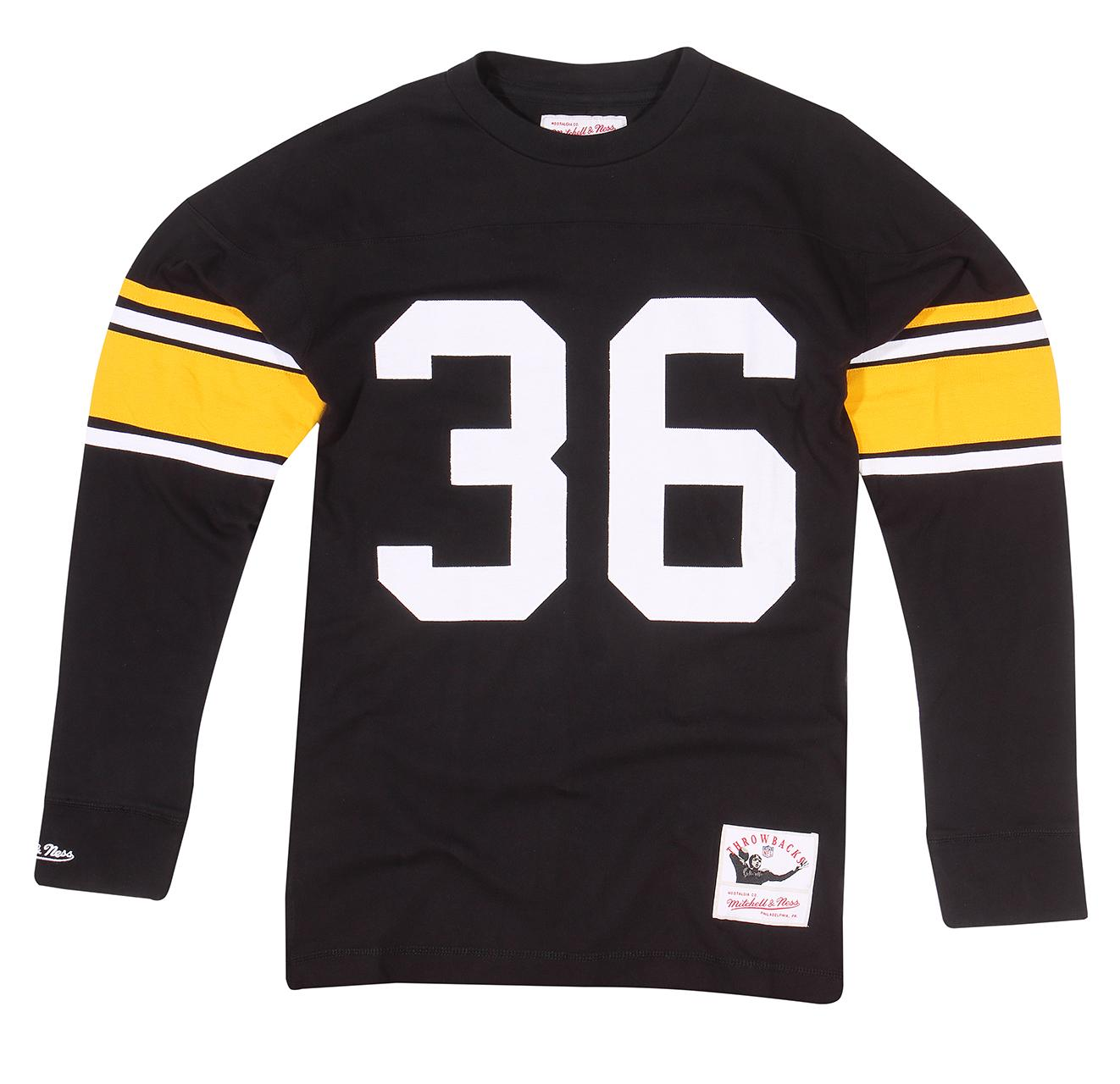half off ae13a 14f48 Mitchell & Ness | Jerome Bettis Jersey Inspired Knit Top ...