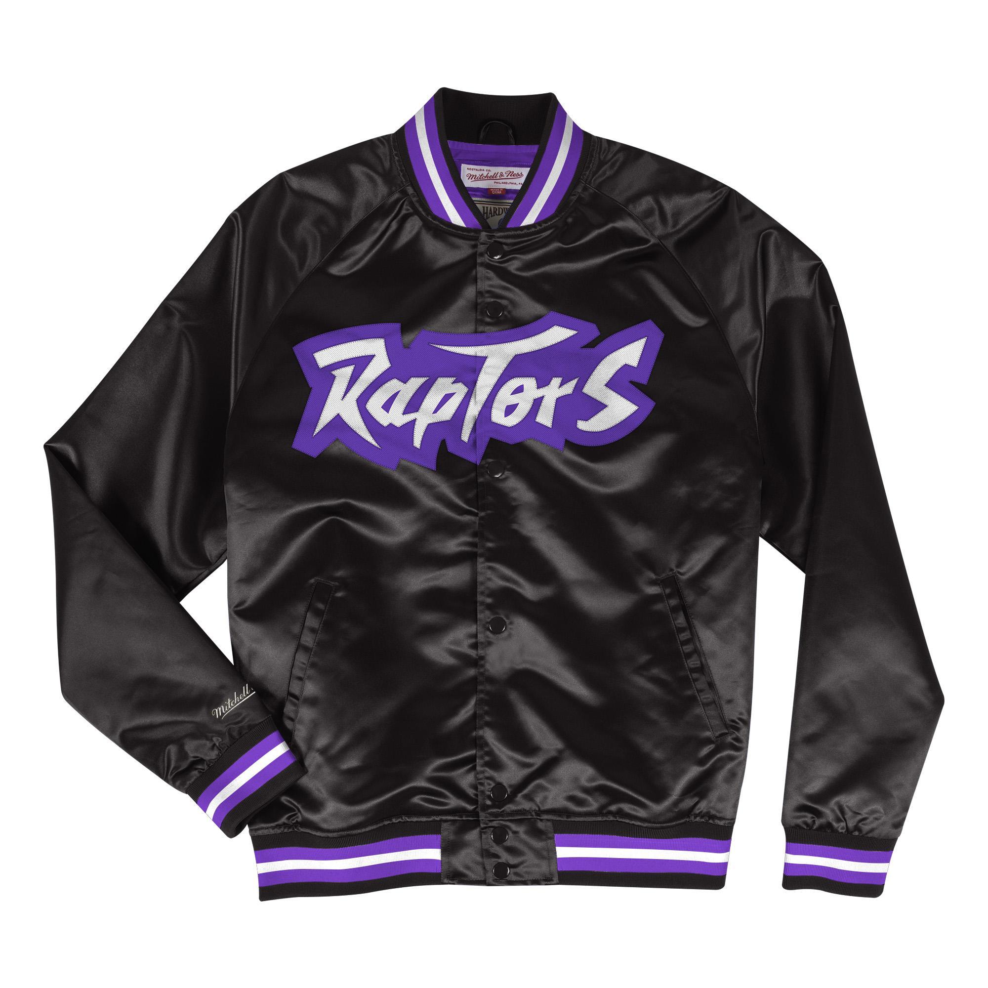 NBA Lightweight Satin Jacket Toronto Raptors 3f125eb2a