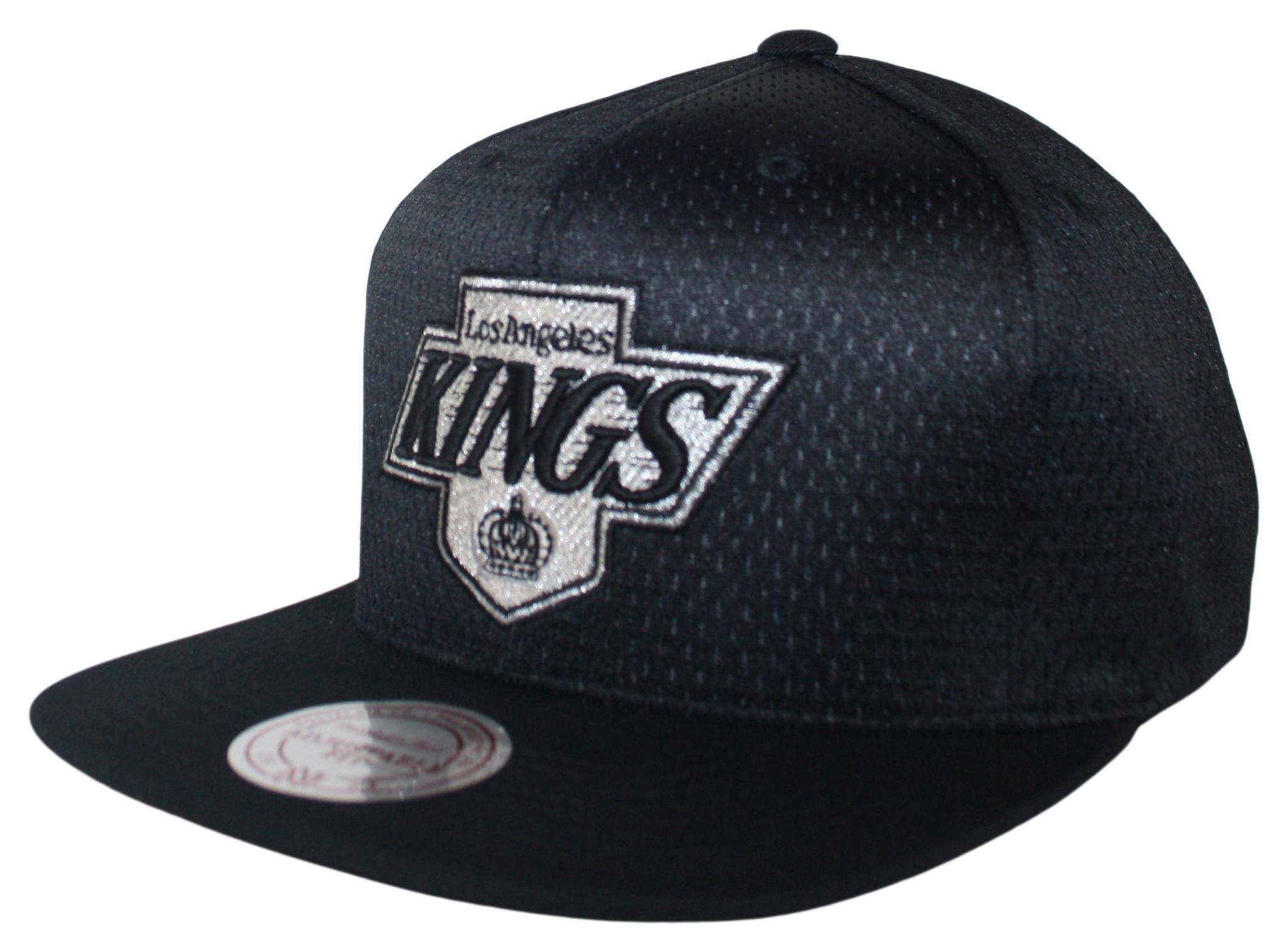 newest 159d6 d61f4 Mitchell & Ness | LA Kings Black Jersey Mesh Snapback