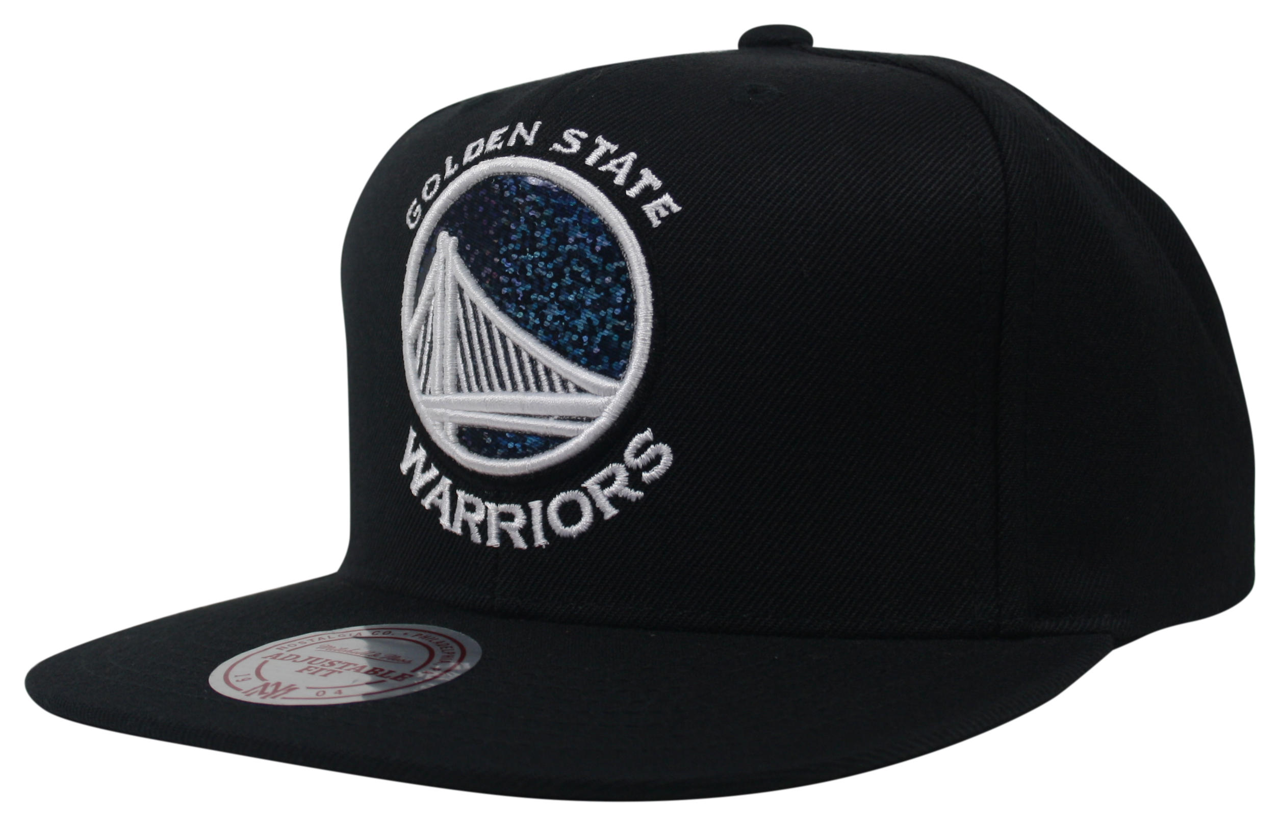 fdc95b6f315c1 Dark Hologram Snapback Golden State Warriors
