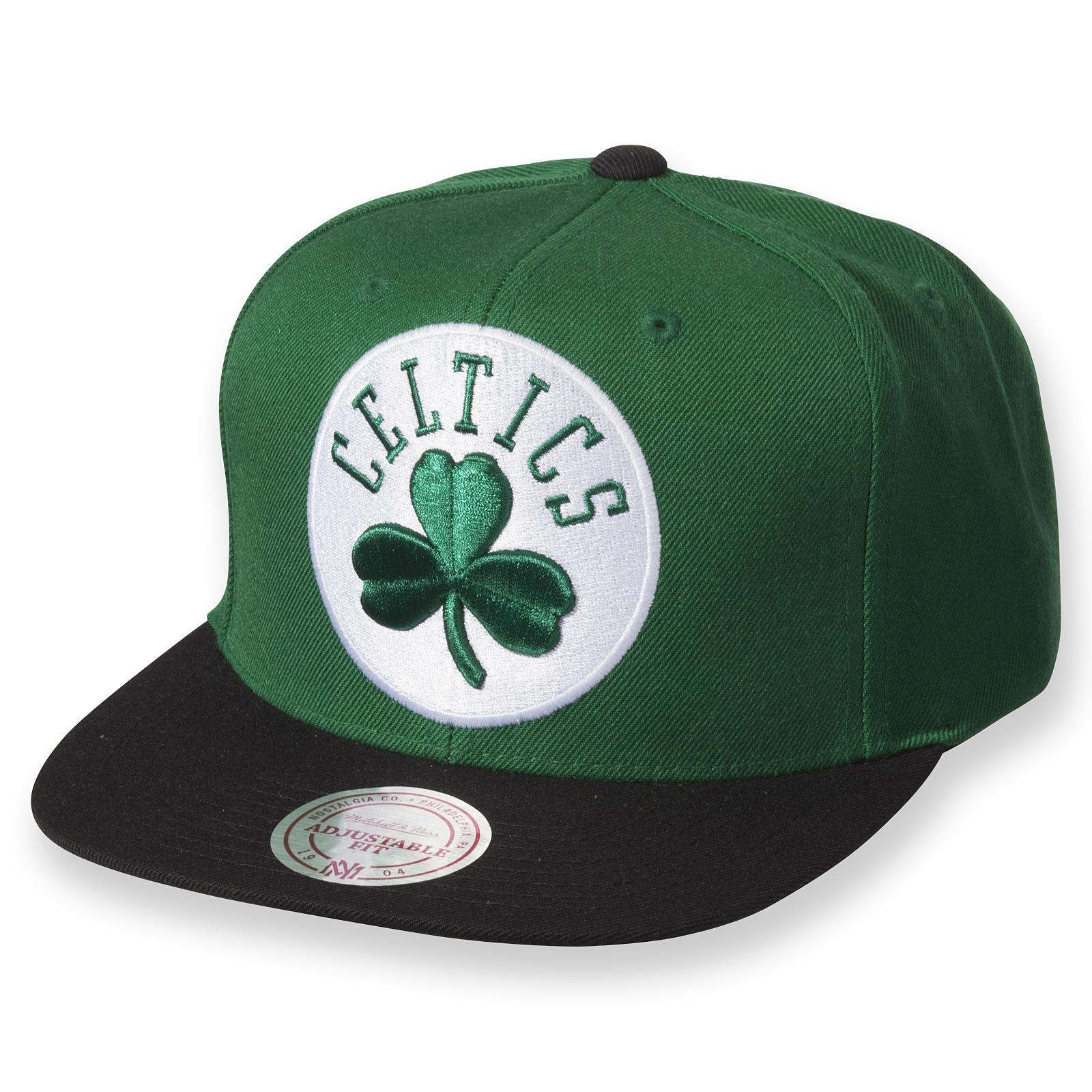 8710723ae89 XL Logo 2-Tone Snapback Boston Celtics
