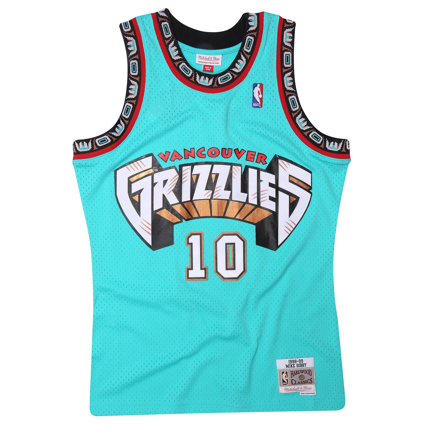c1ea6da6 Mitchell & Ness | Vancouver Grizzlies Mike Bibby 1998-99 Road ...