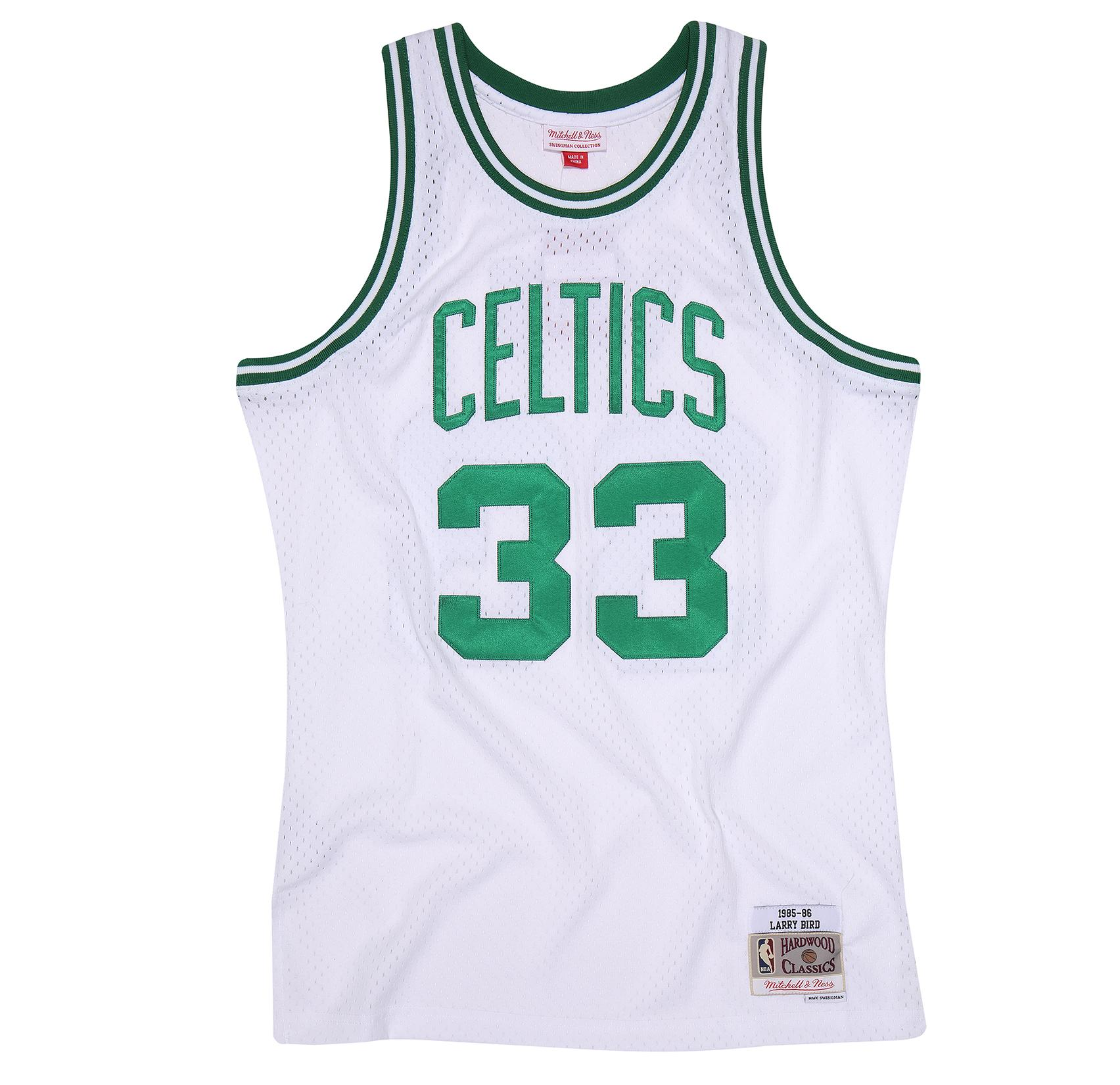 26d70f4ff Larry Bird 1985-86 Swingman Jersey Boston Celtics