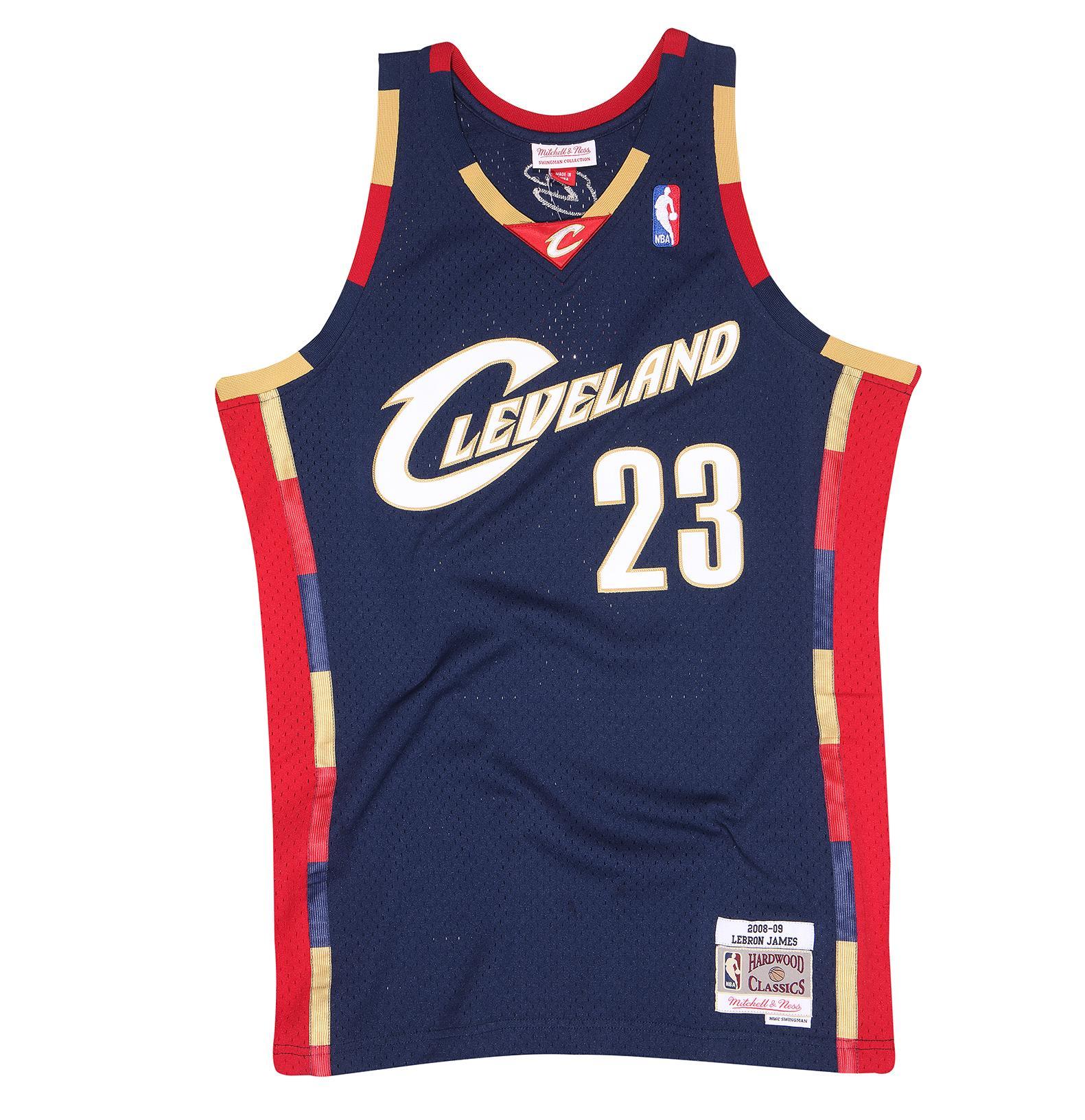 589e7dccb3e Mitchell & Ness Nostalgia Co. Lebron James Cleveland Cavaliers 2008 ...