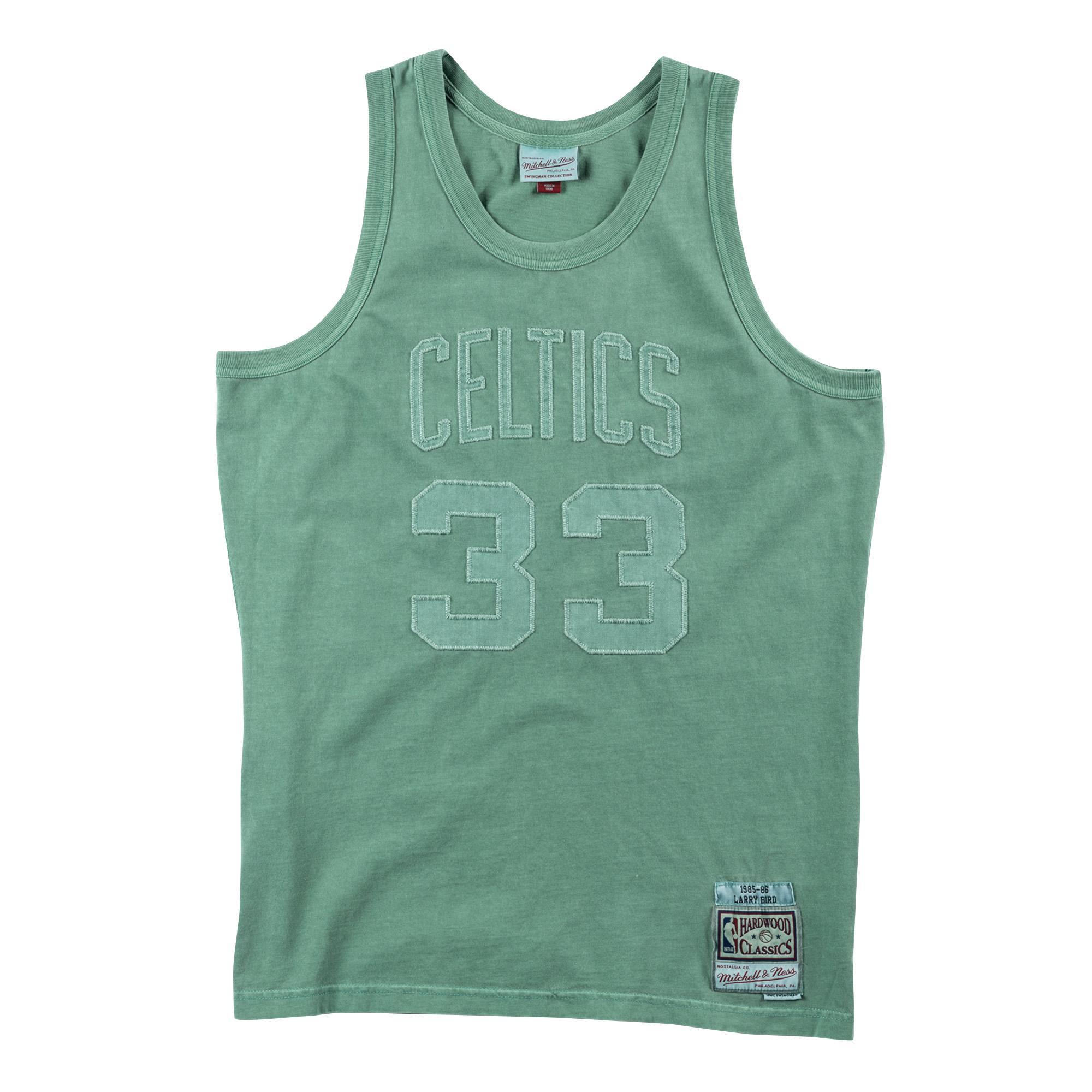 b59ab293d5f Washed Out Swingman Jersey Larry Bird Boston Celtics