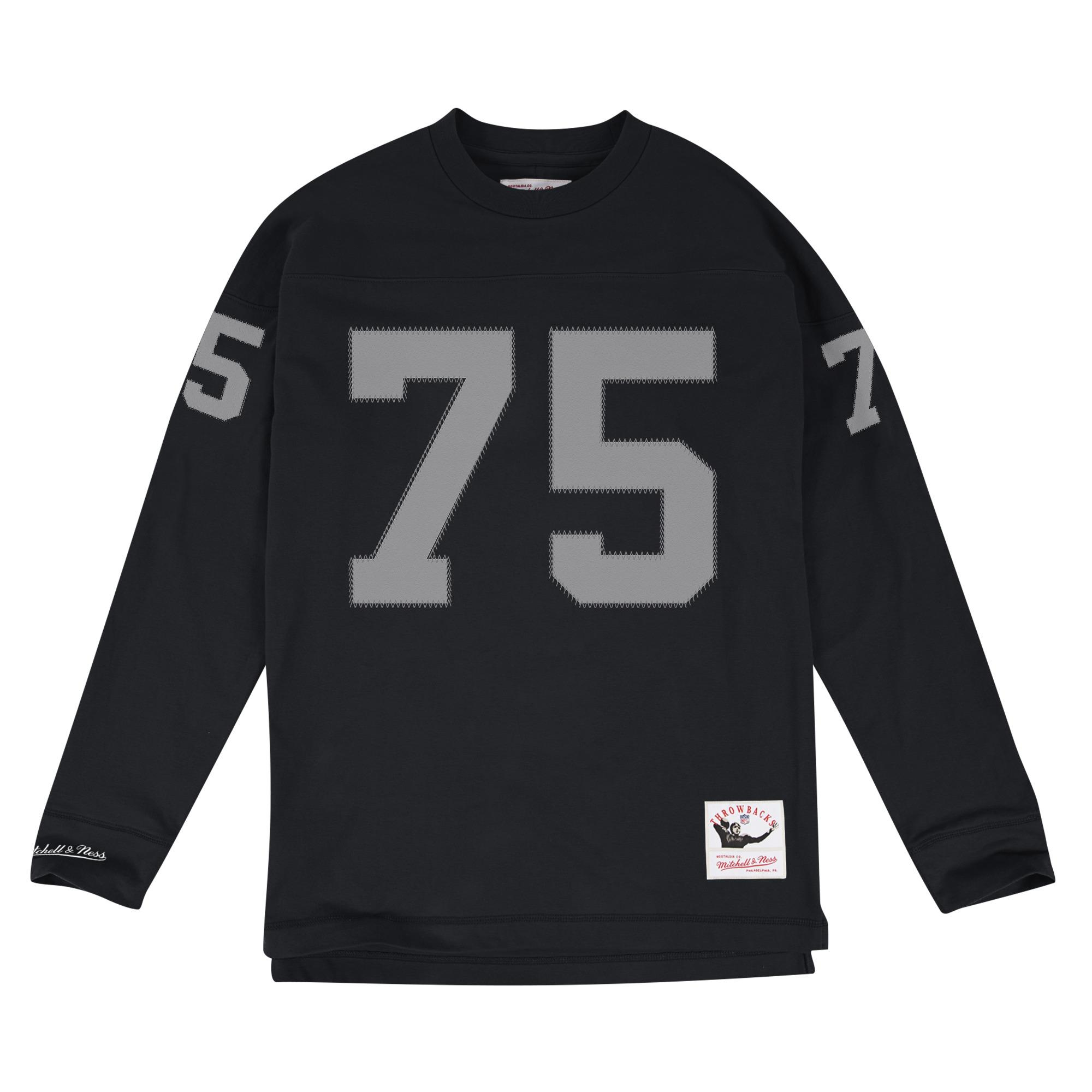 more photos 823ce cf522 Mitchell & Ness | Name & Number Long Sleeve LA Raiders Howie ...