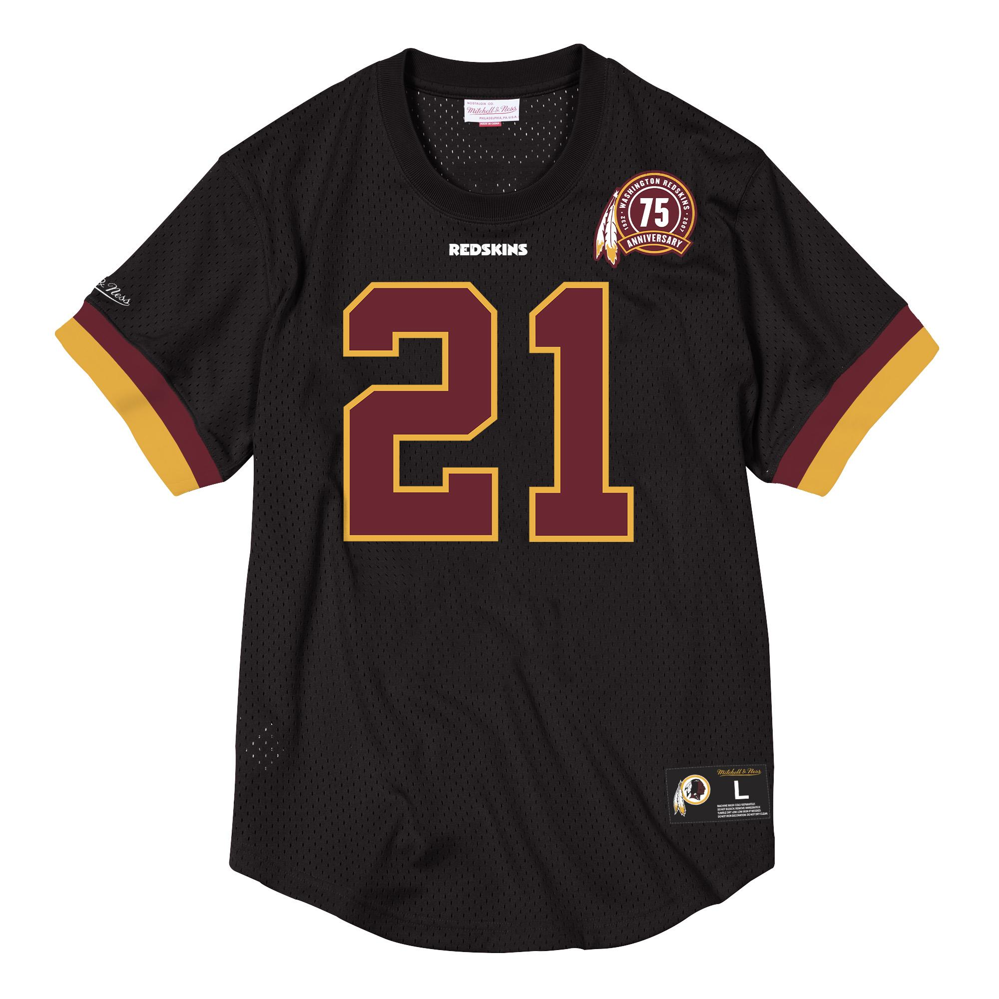 hot sales a6d92 bfab5 Mitchell & Ness | NFL Name & Number Mesh Crew Neck- Sean Taylor