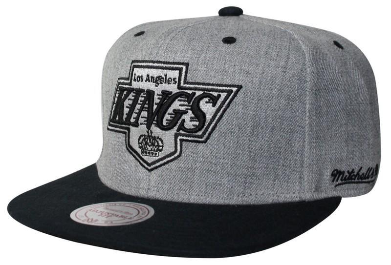 low priced 18436 72a7c Mitchell & Ness | LA Kings Grey Backboard Snapback