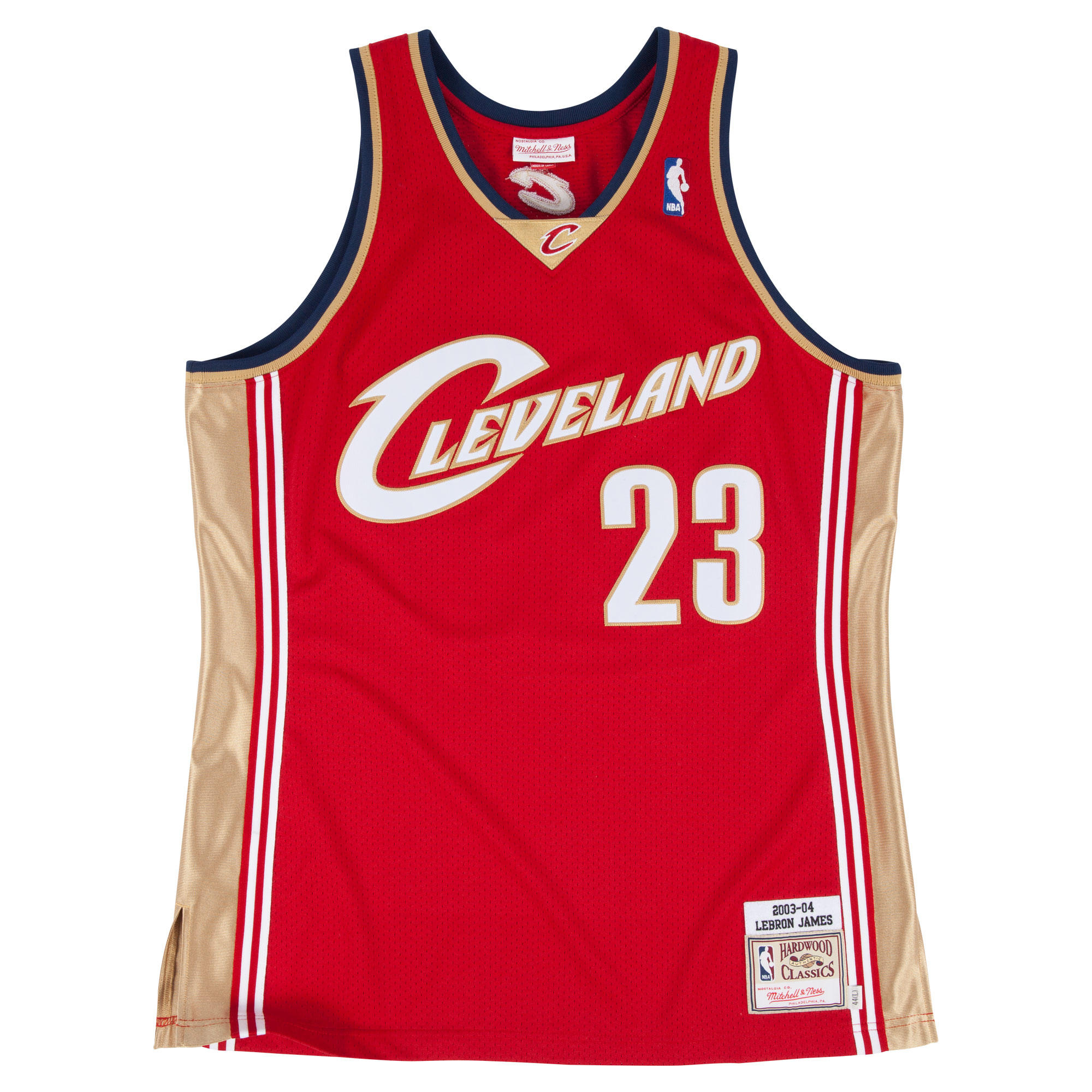 823675c6c7d ... free shipping 2003 04 lebron james authentic jersey cleveland cavaliers  mitchell ness nostalgia co. 8110c