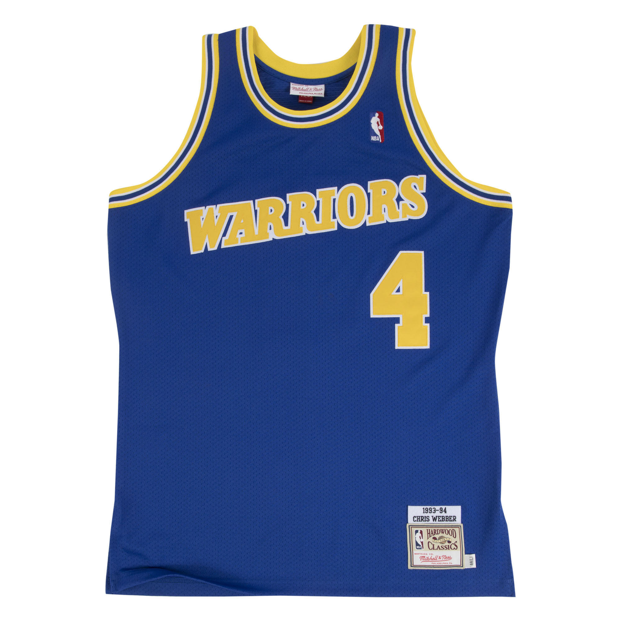 hot sale online 36f4c 76389 Mitchell & Ness Nostalgia Co. | Chris Webber 1993-94 ...