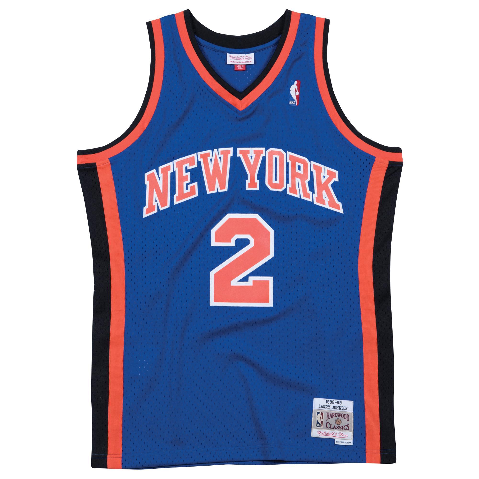 1ed42063986 Larry Johnson 1998-99 Road Swingman Jersey New York Knicks