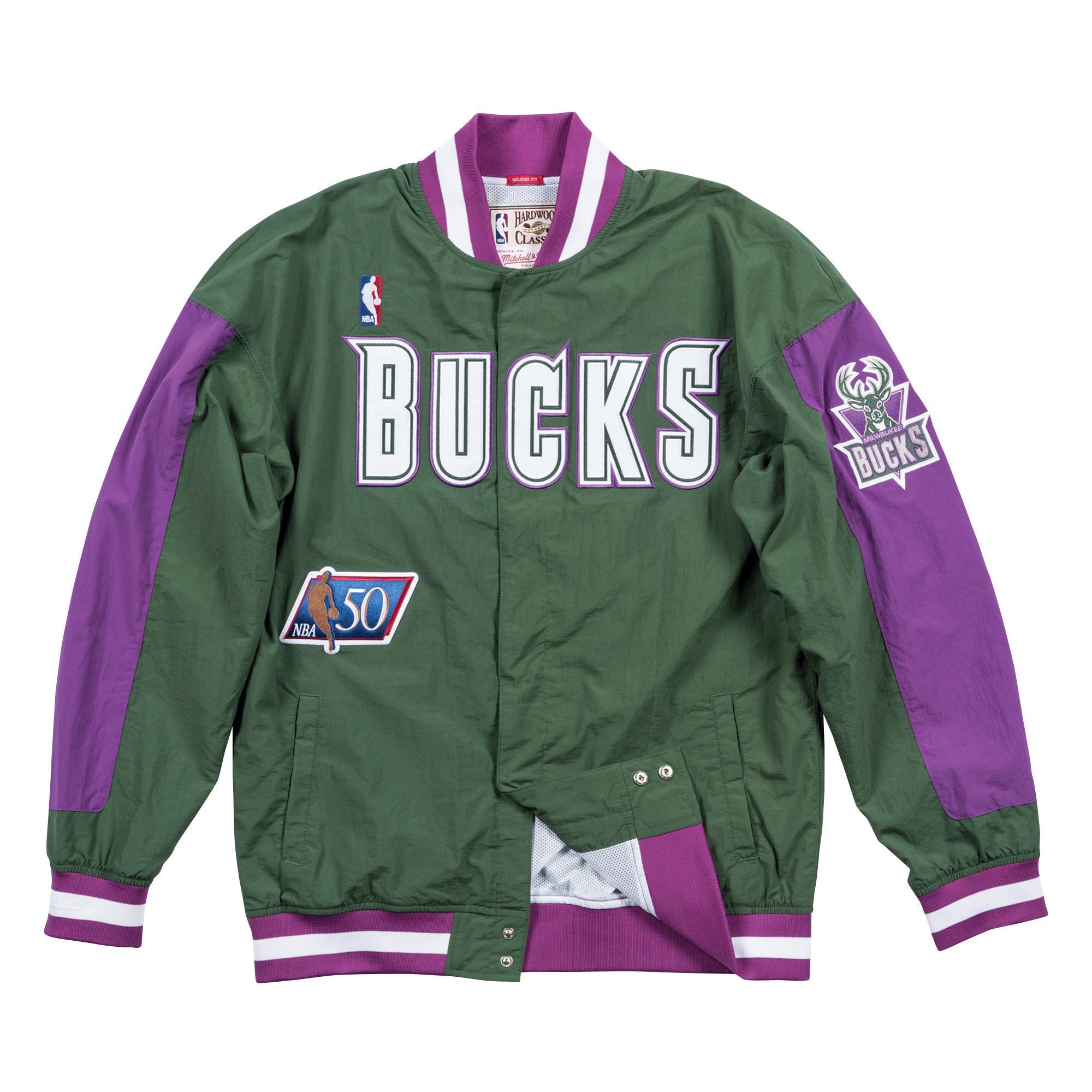 Milwaukee Bucks 1996-97 Authentic Warm