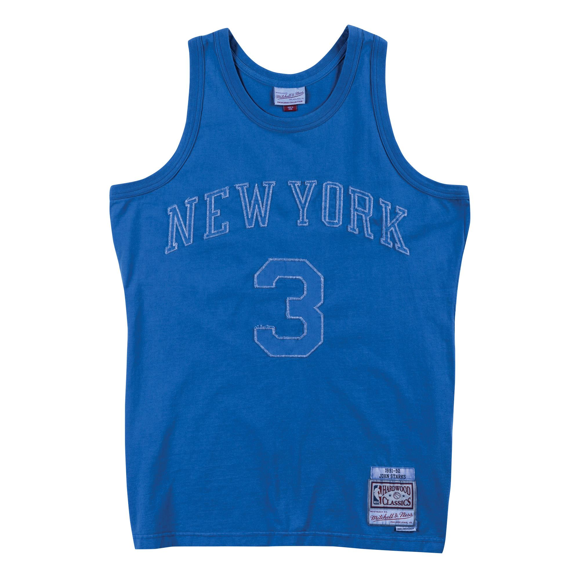 423bb31a7 Washed Out Swingman Jersey John Starks New York Knicks