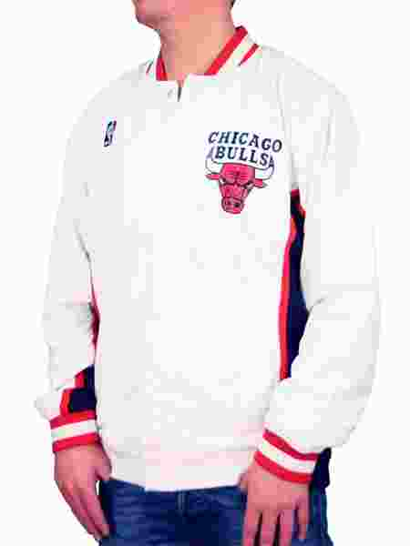 01462d9dd08c4 Mitchell and Ness | Chicago Bulls White 1992 1993 Authentic Warm
