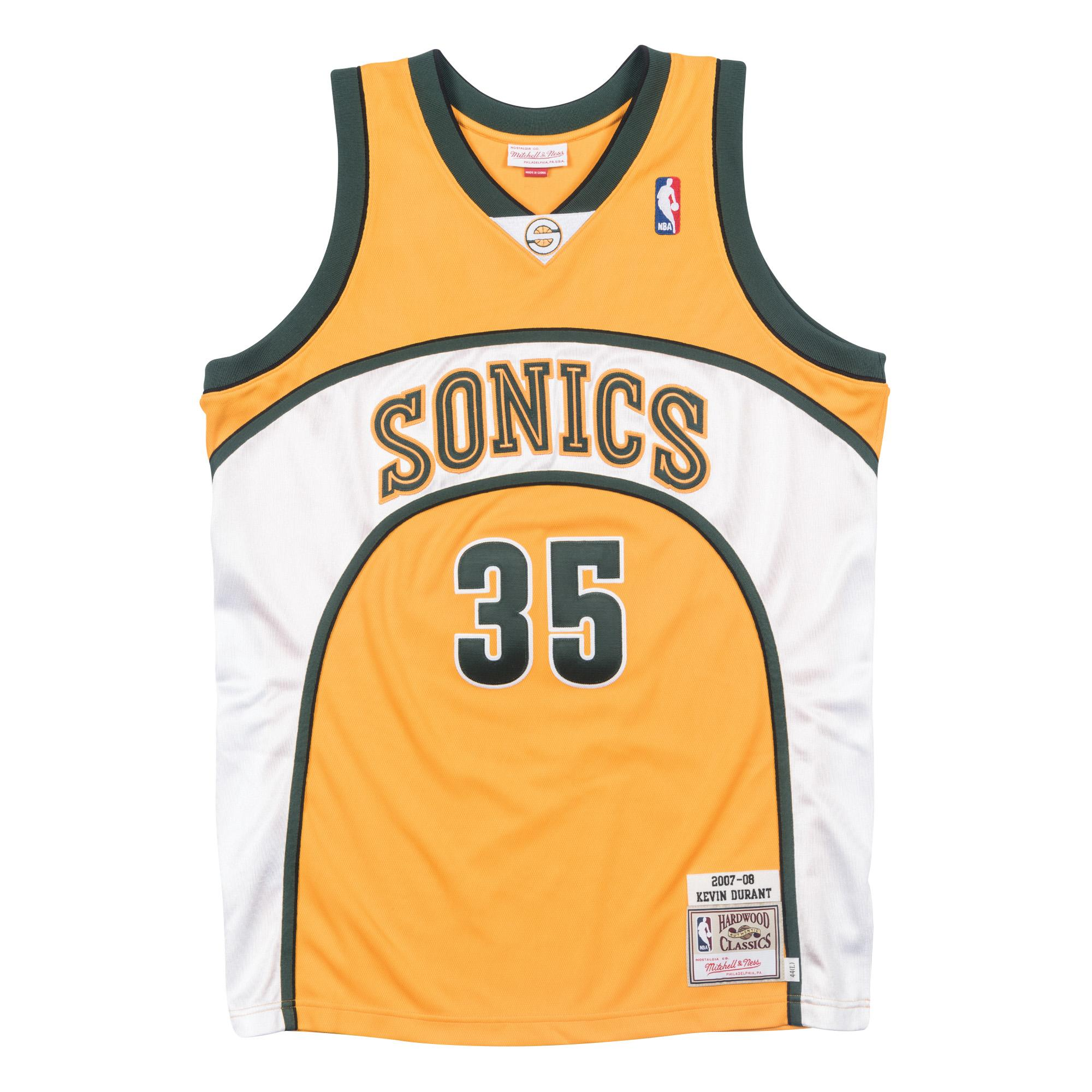 Kevin Durant 2007-08 Authentic Jersey Seattle Supersonics 622c46ddd