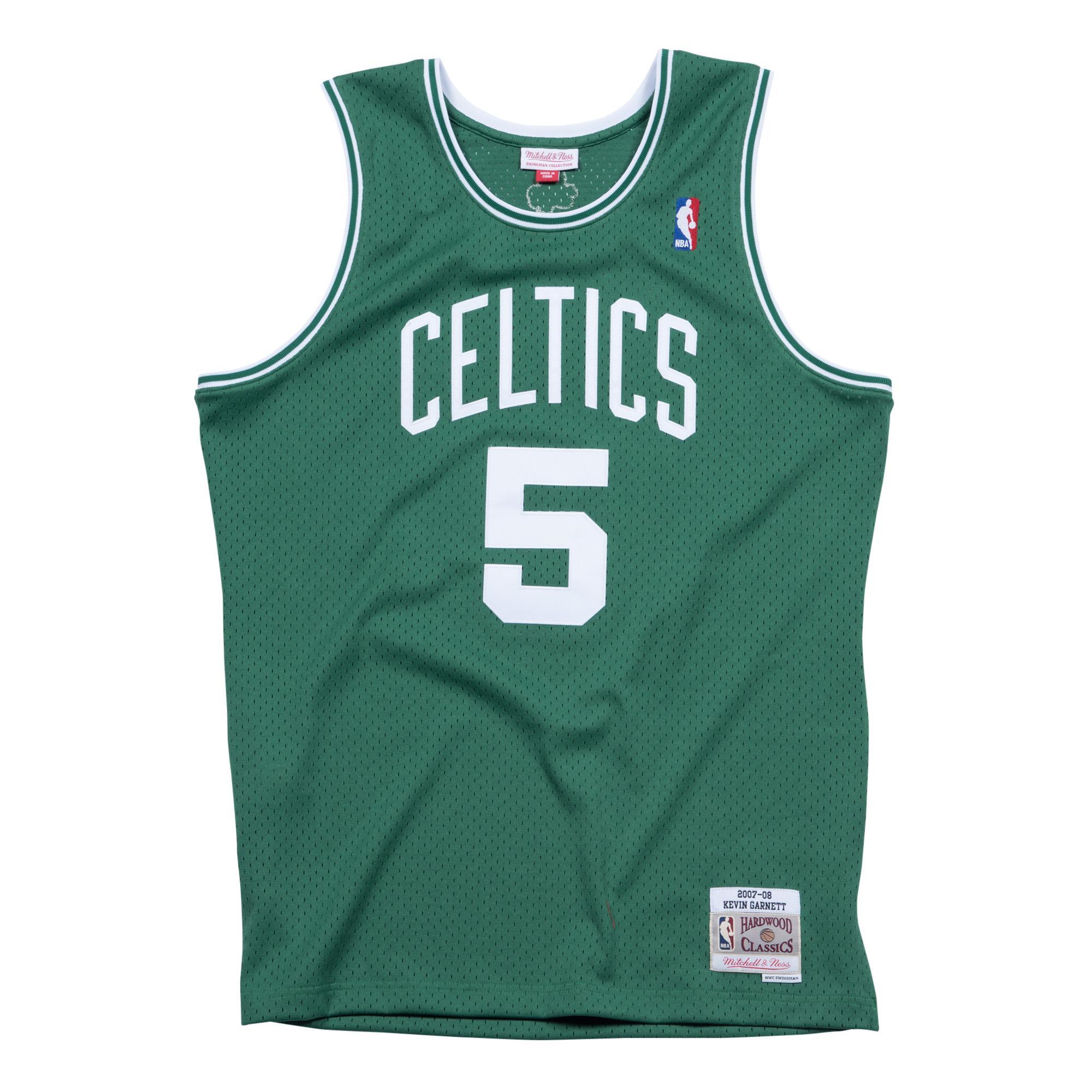 ca6976f5a Kevin Garnett 2007-08 Swingman Jersey Boston Celtics
