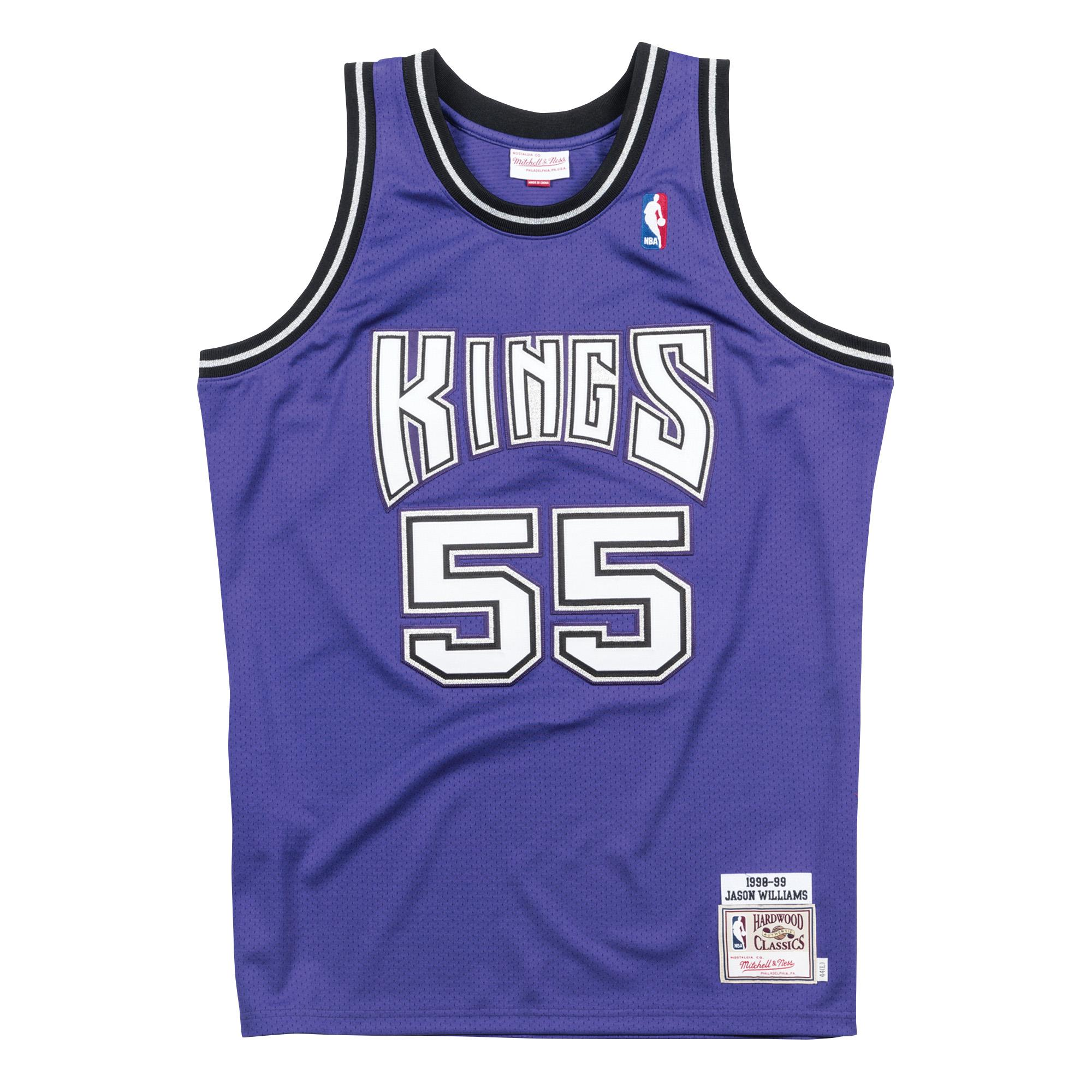 6023a838a72 Jason Williams 1998-99 Alternate Authentic Jersey Sacramento Kings